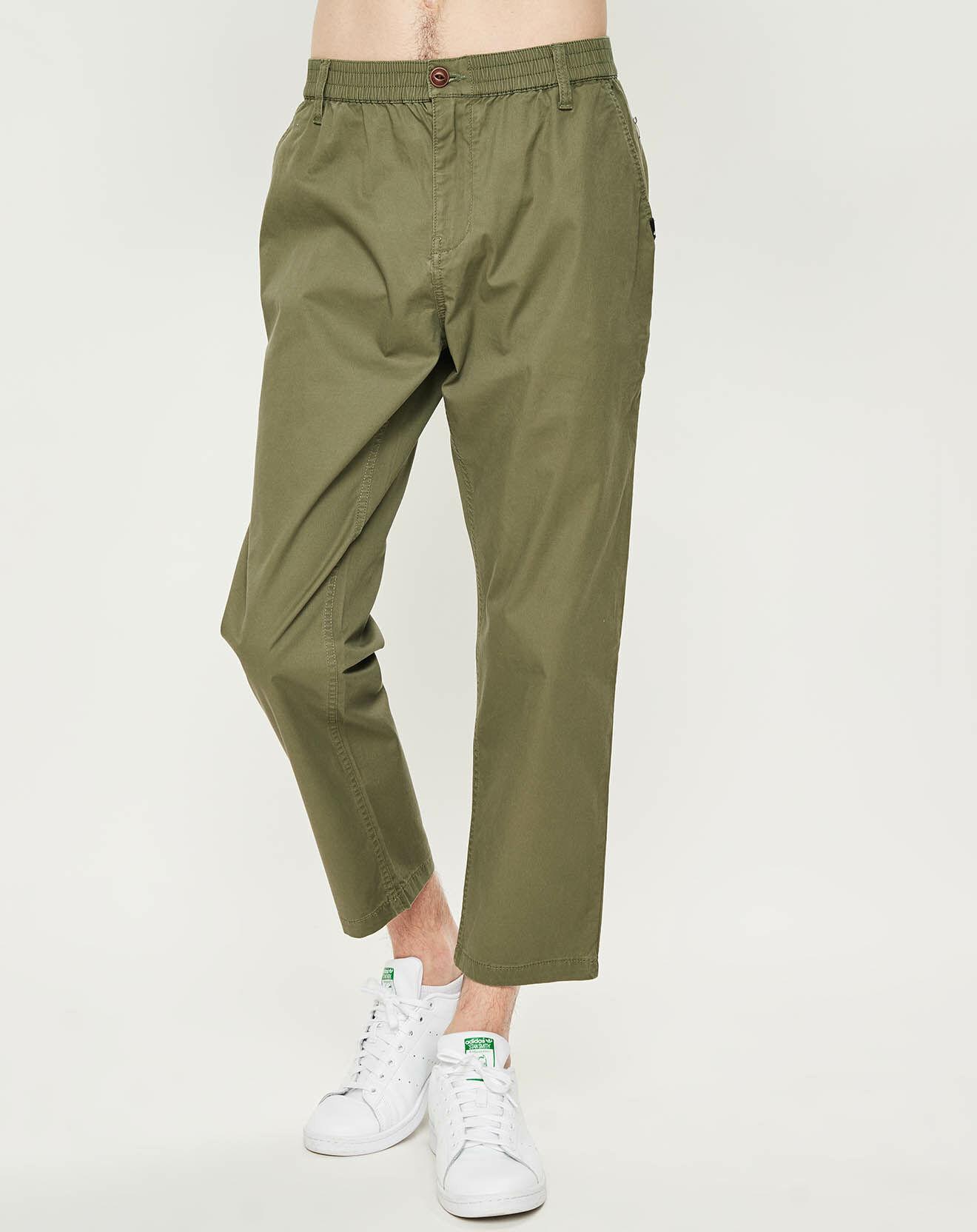Pantalon Flex kaki - Quiksilver - Modalova