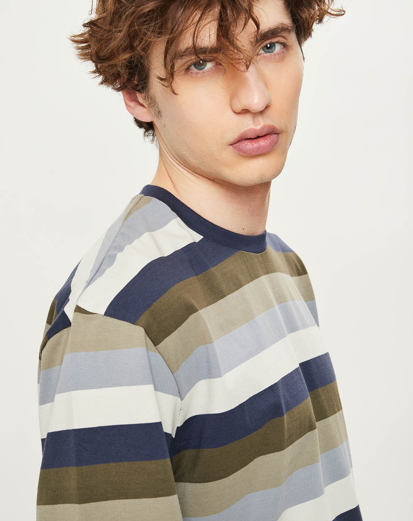 T-Shirt Brompton Factory rayé - Pepe Jeans - Modalova