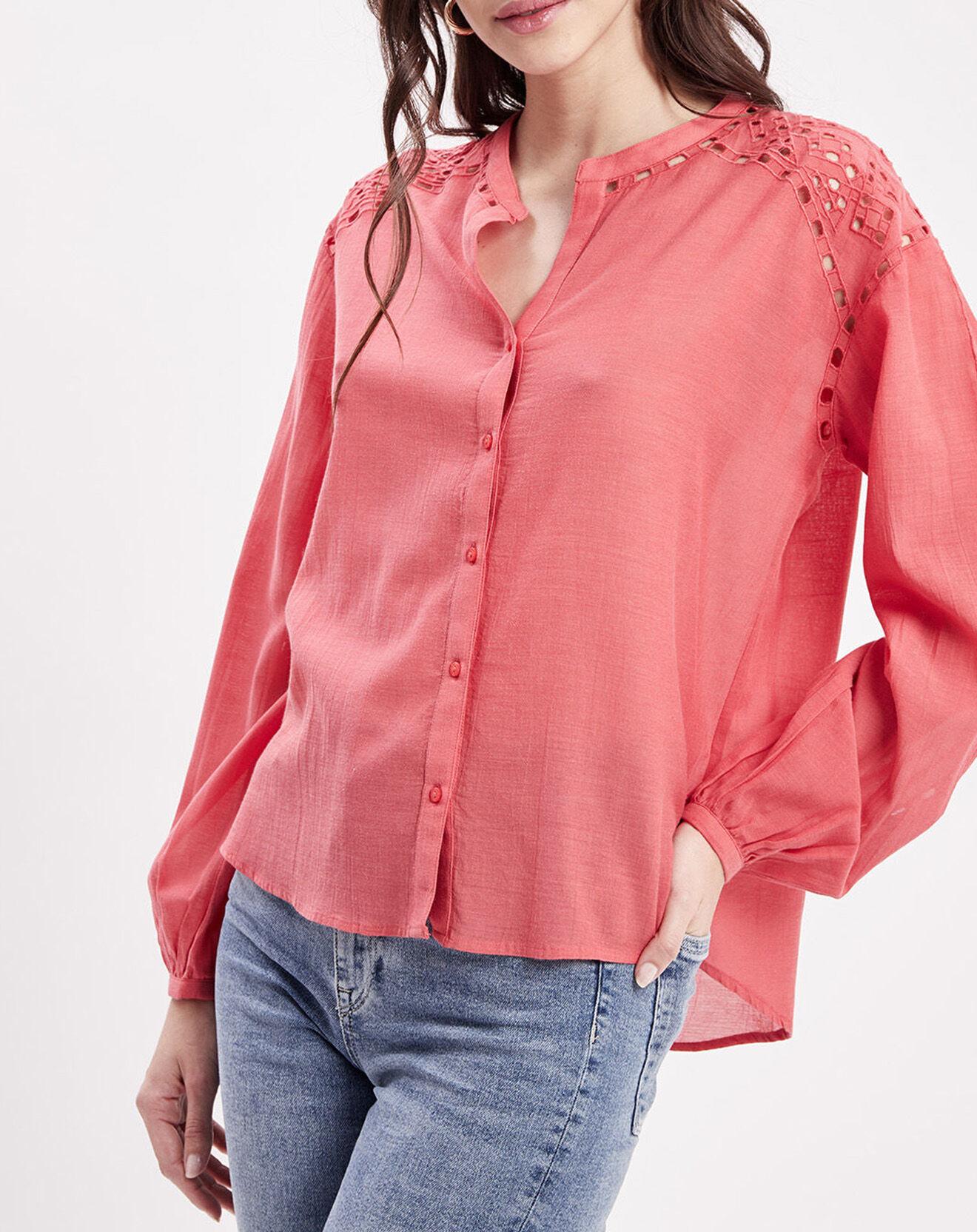 Chemise Dori rouge - Pepe Jeans - Modalova