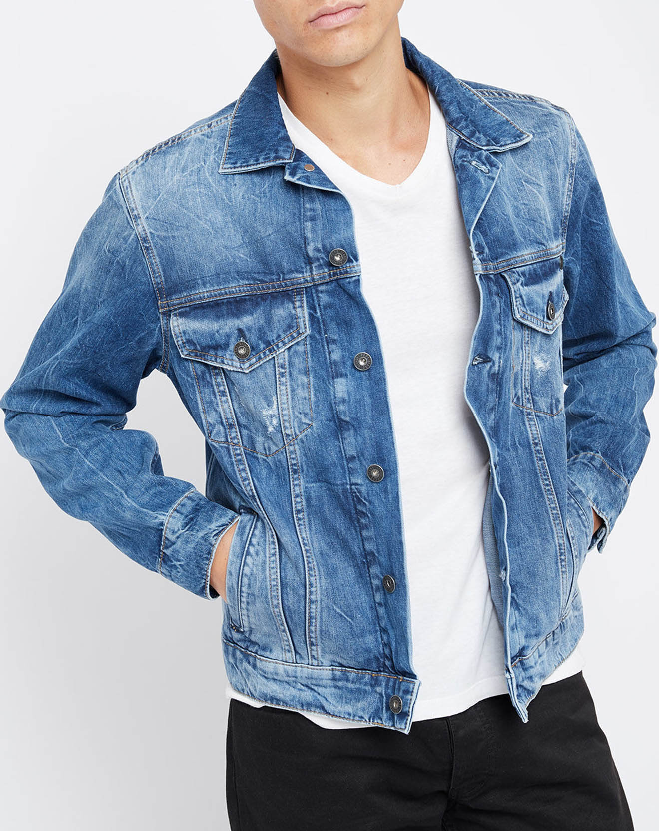 Veste en Jean Classique bleue - Pepe Jeans - Modalova