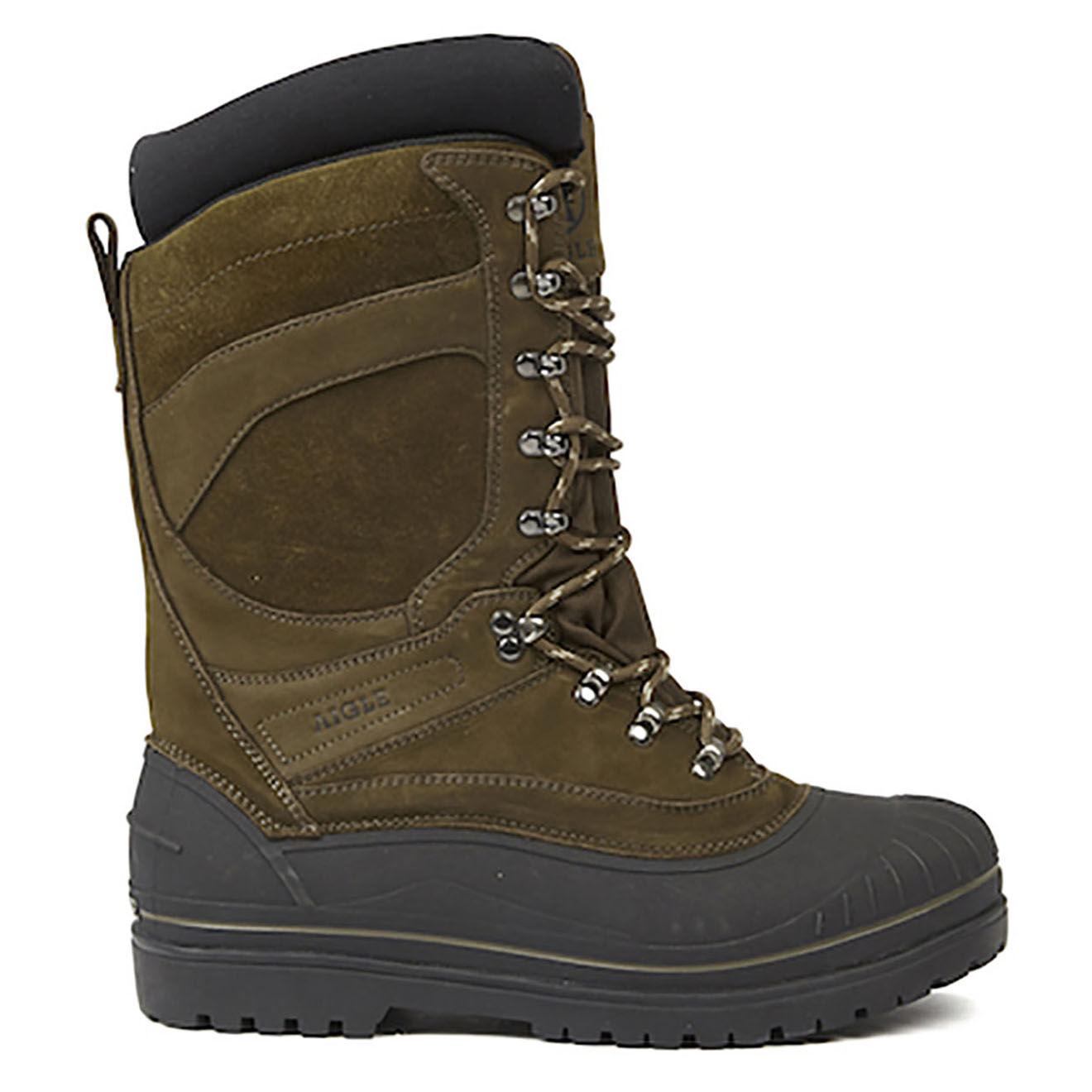 Chaussures hautes en Cuir Belfy sepia - Aigle - Modalova