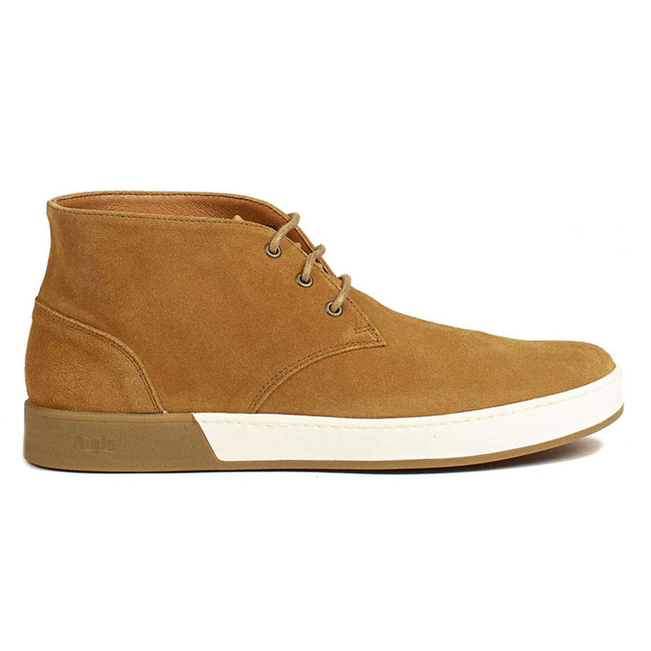 Chukka Boots en Cuir Lonriver Mid camel - Aigle - Modalova