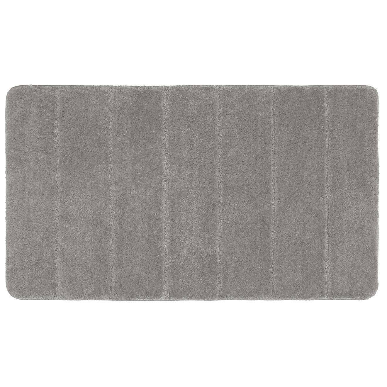 Tapis de bain Steps gris clair - 70x120 cm
