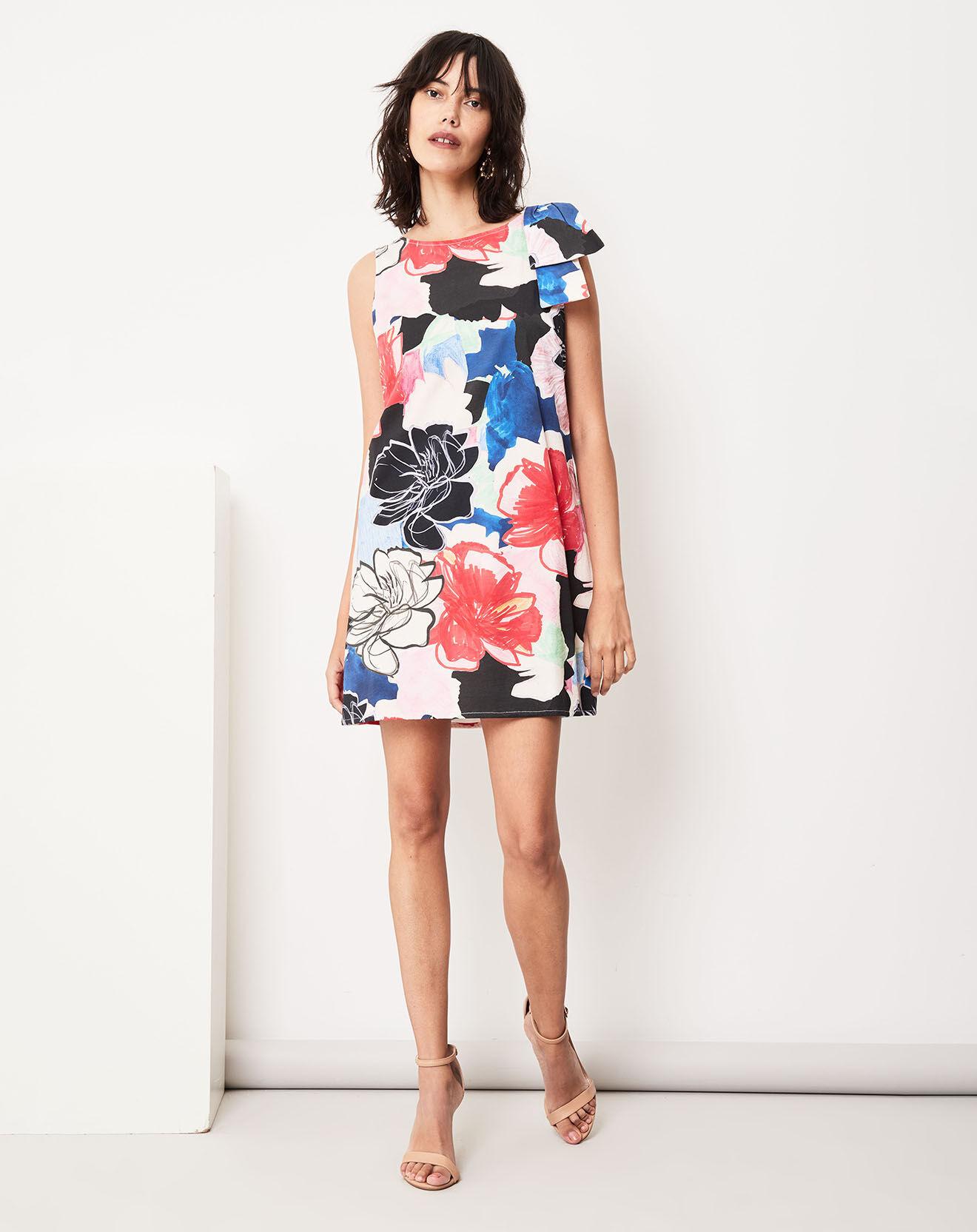 Robe Beryl imprimée multicolore - Paule ka - Modalova