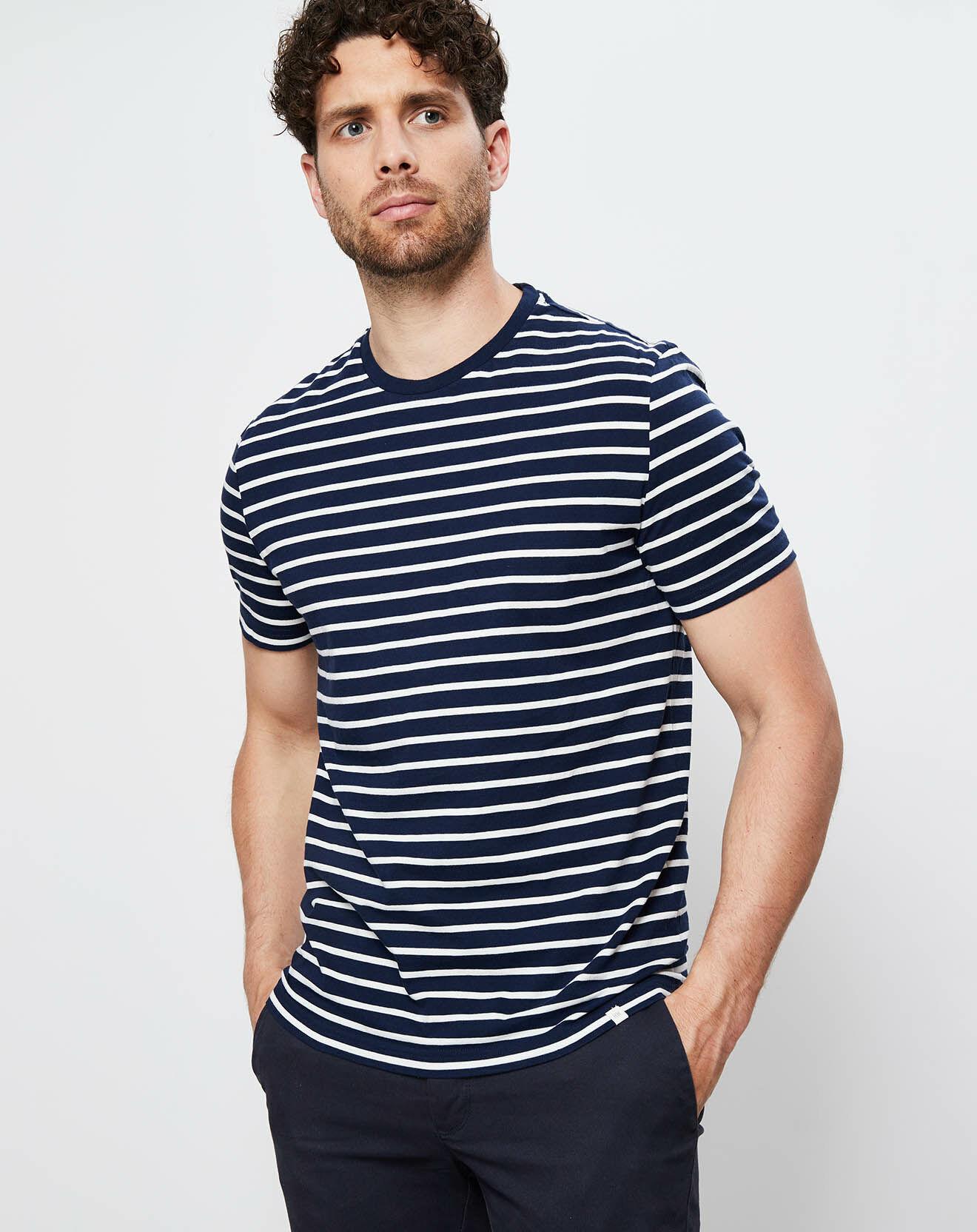 T-Shirt Hamilton rayé marine - Harris Wilson - Modalova