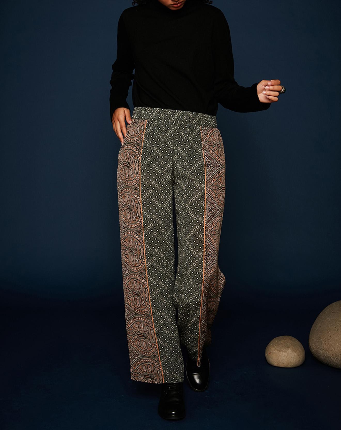 Pantalon Ines kaki - Stella Forest - Modalova