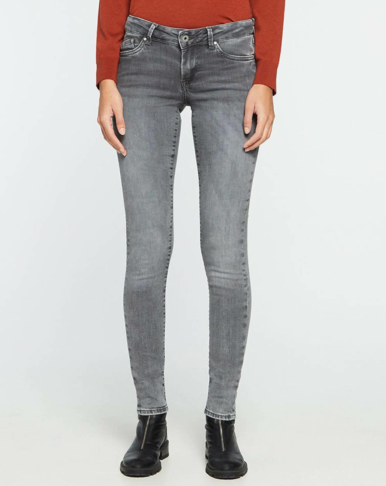 Jean Pixie Skinny T.Reg gris - Pepe Jeans - Modalova