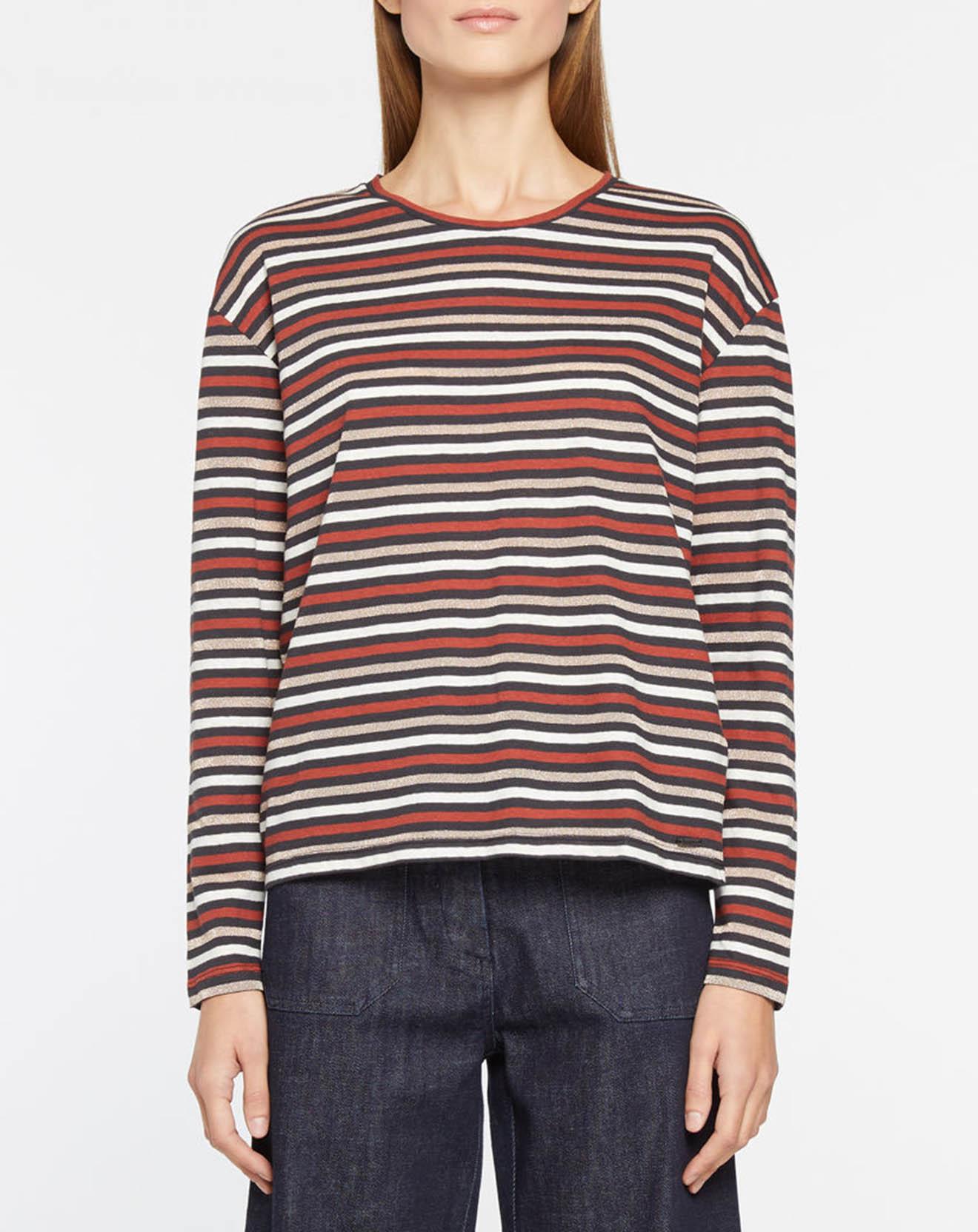 T-Shirt en Lin mélangé rayé - Pepe Jeans - Modalova