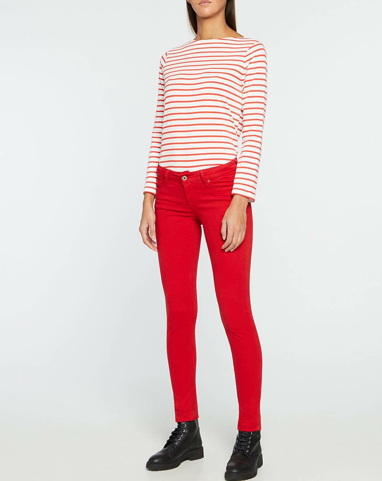 Jean Soho Skinny T.Reg rouge - Pepe Jeans - Modalova