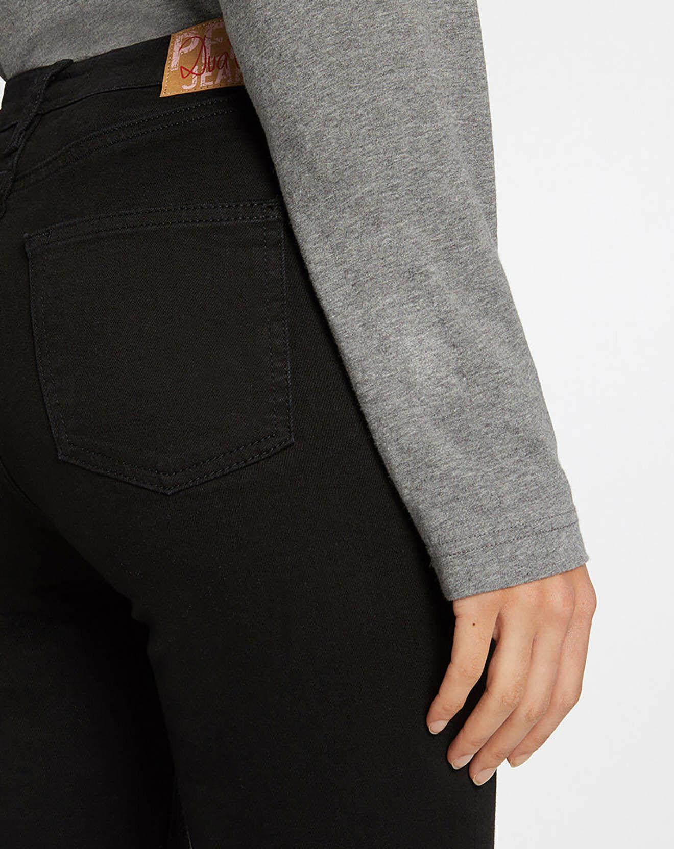Jean Flare Taille haute noir - Pepe Jeans - Modalova