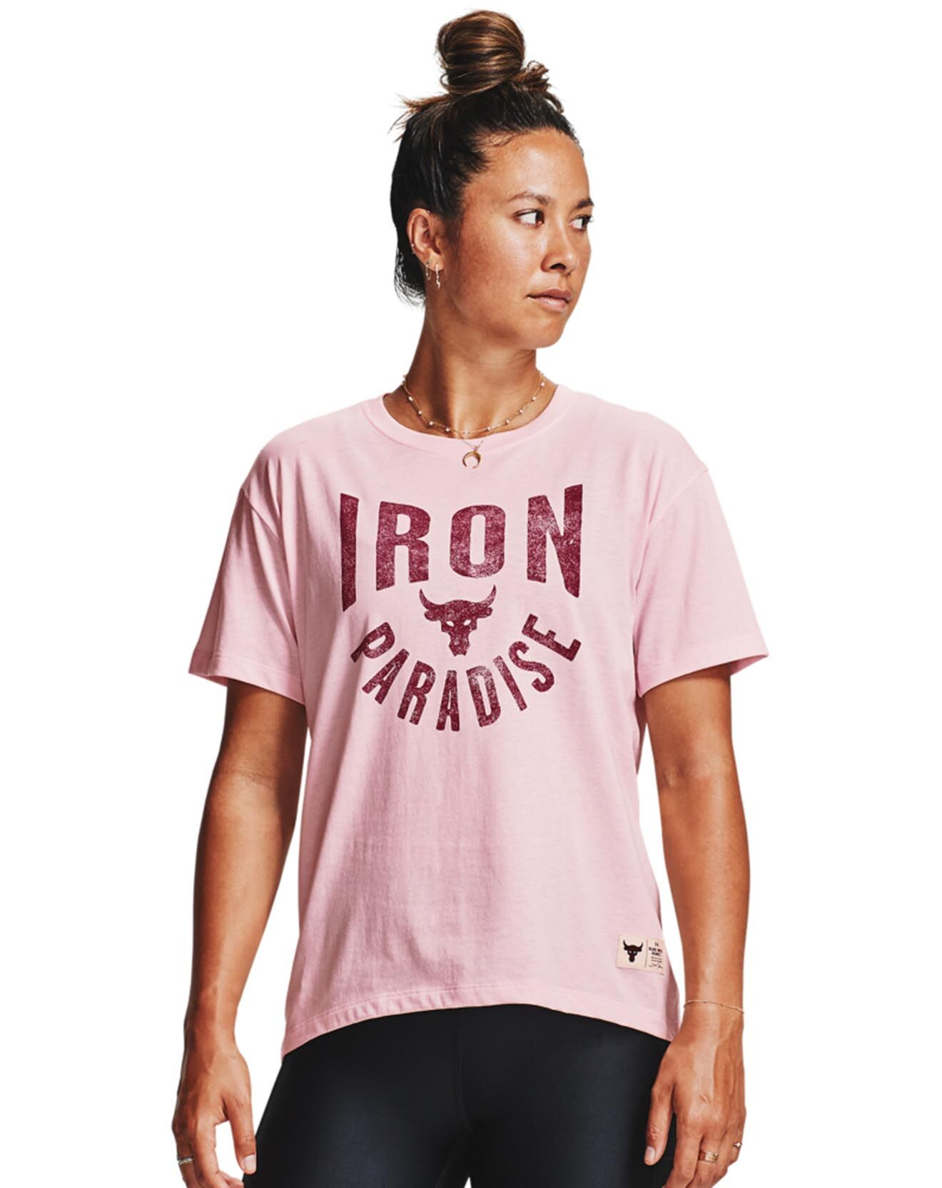 T-Shirt Project Rock Iron rose - Under Armour - Modalova