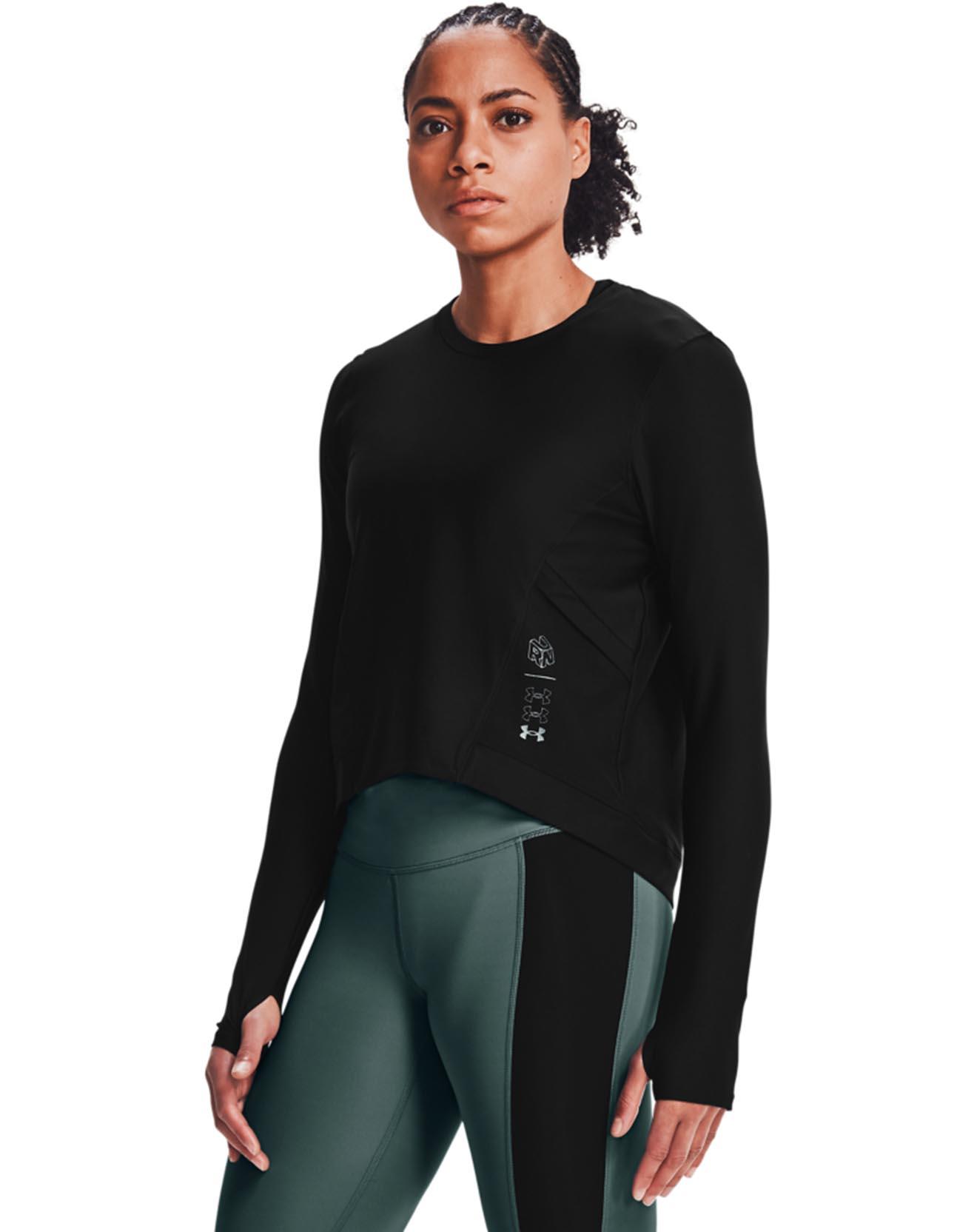 T-Shirt manches longues Run Anywhere - Under Armour - Modalova