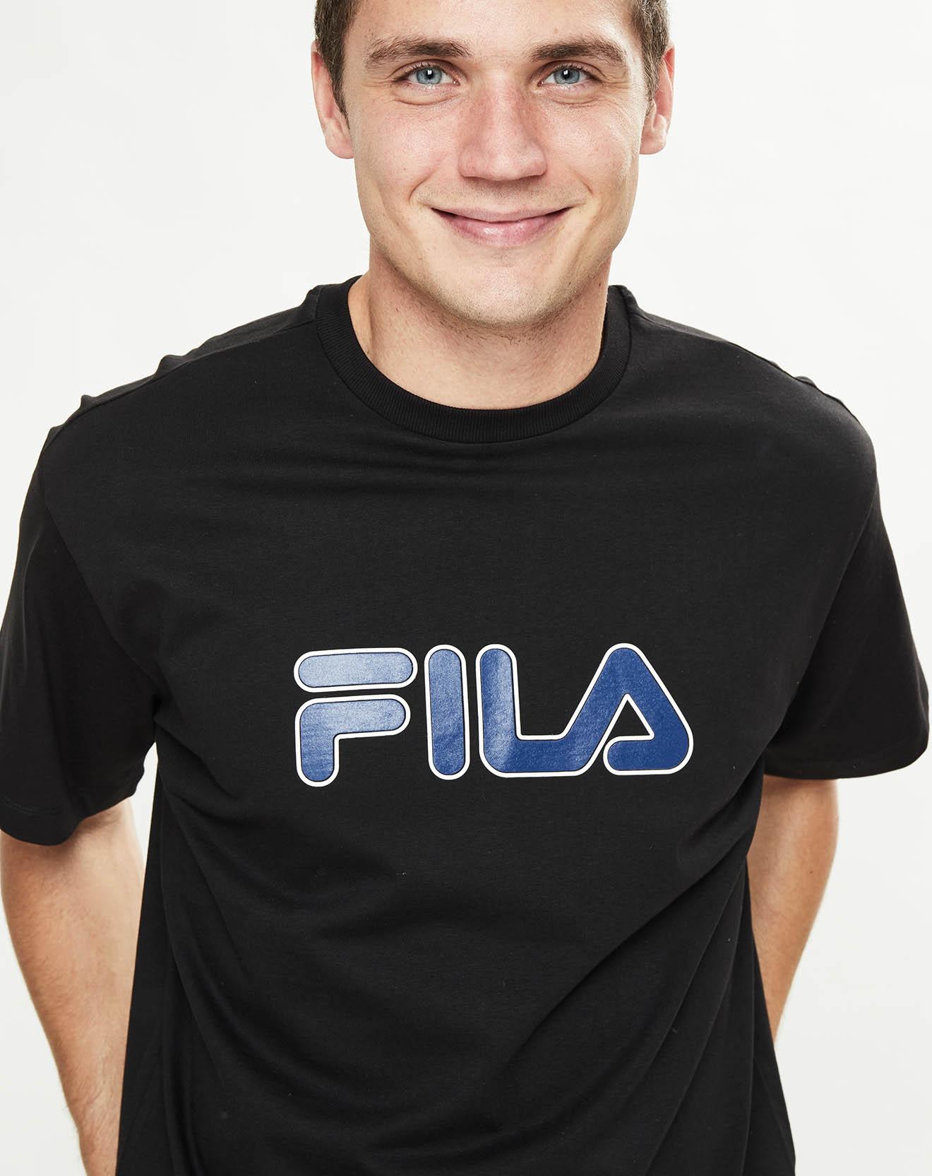 T-Shirt Usher noir - Fila - Modalova