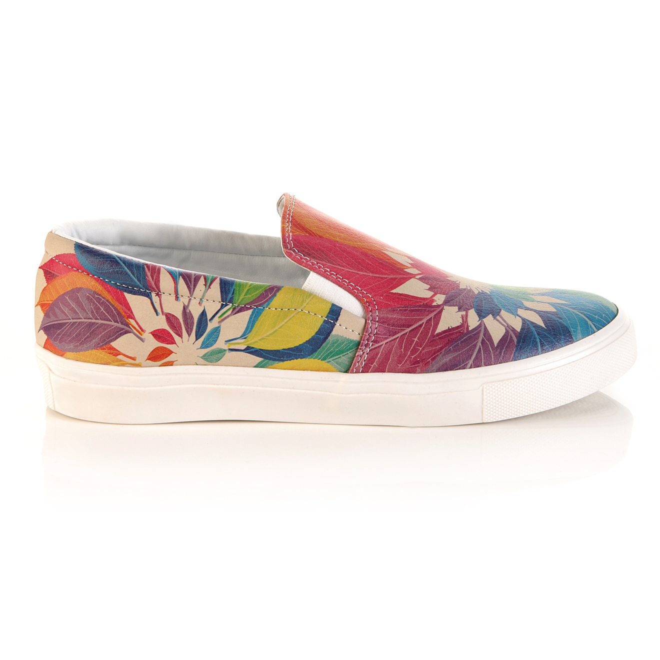 Slip on automne multicolores