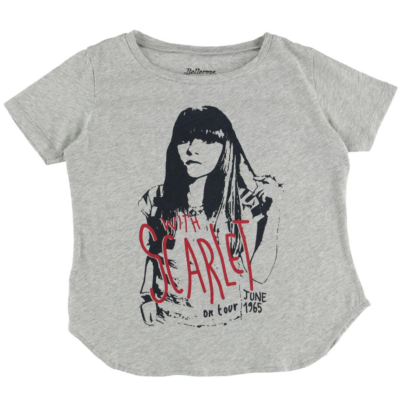 T-shirt 100% coton  vilni gris