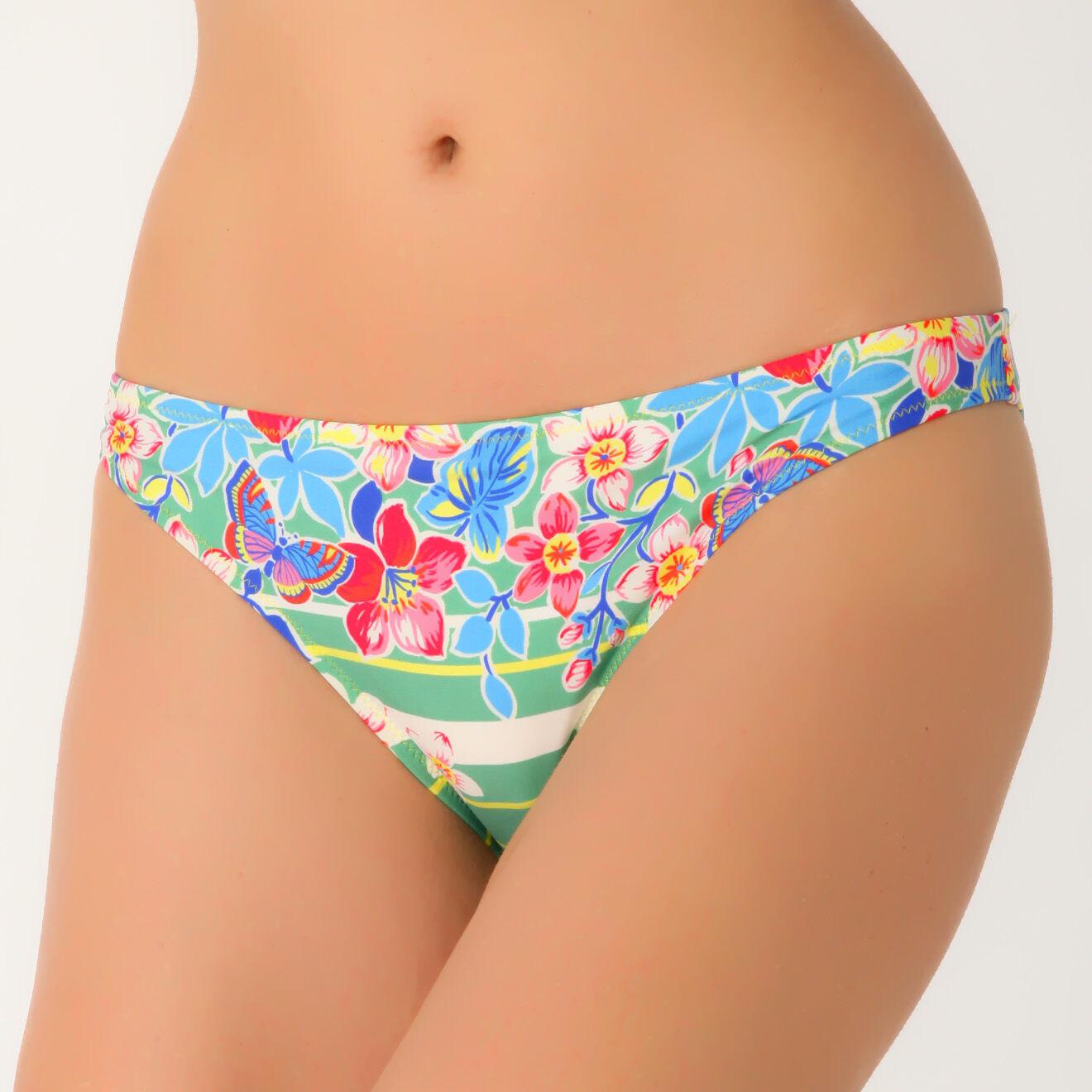 Bas de maillot bikini vert - Etam - Modalova