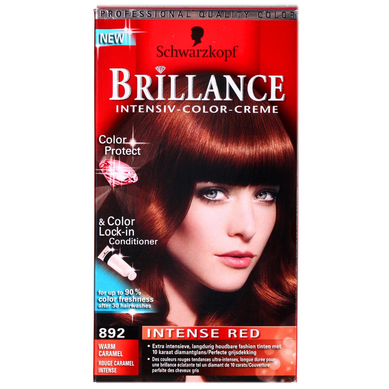 Coloration Brillance 892 rouge caremel intense