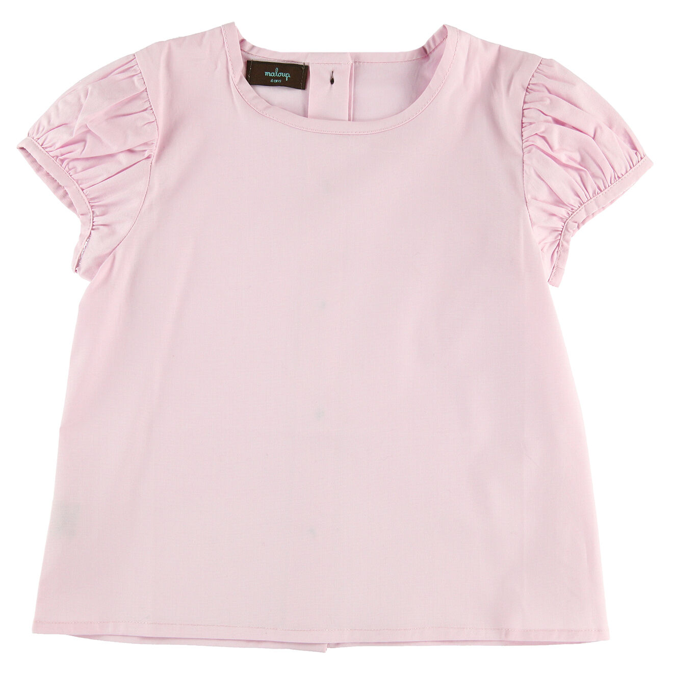 Blouse en coton Frida rose