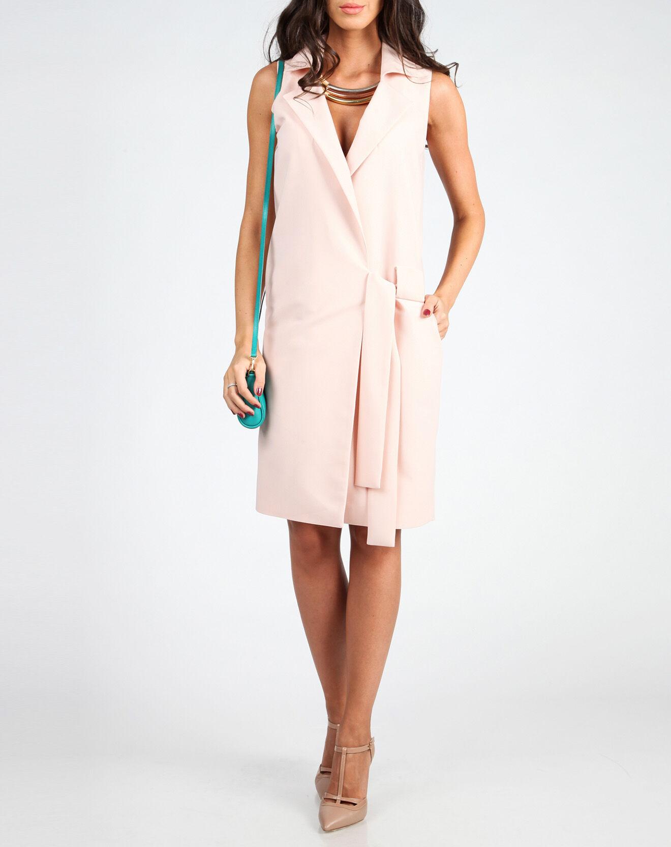 Robe Hannah rose pâle