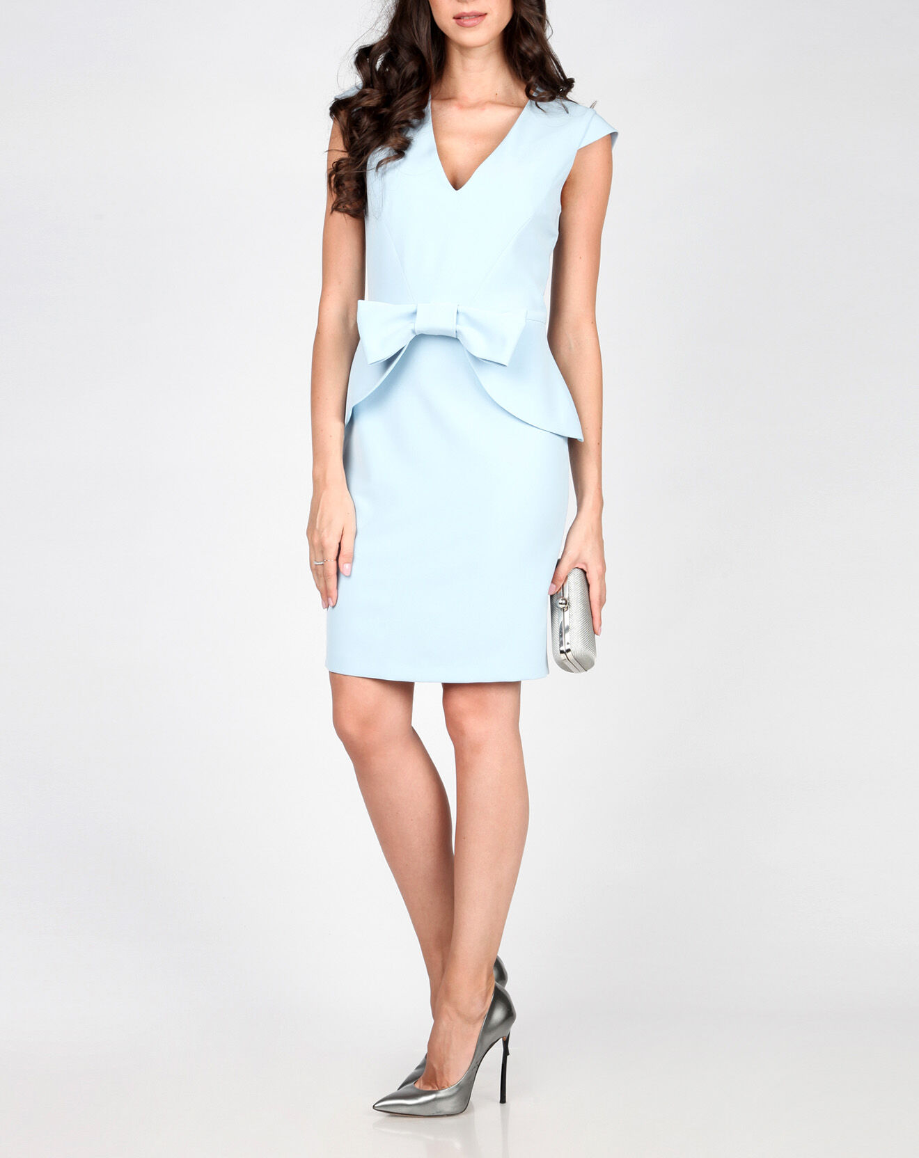 Robe Gwen bleu clair