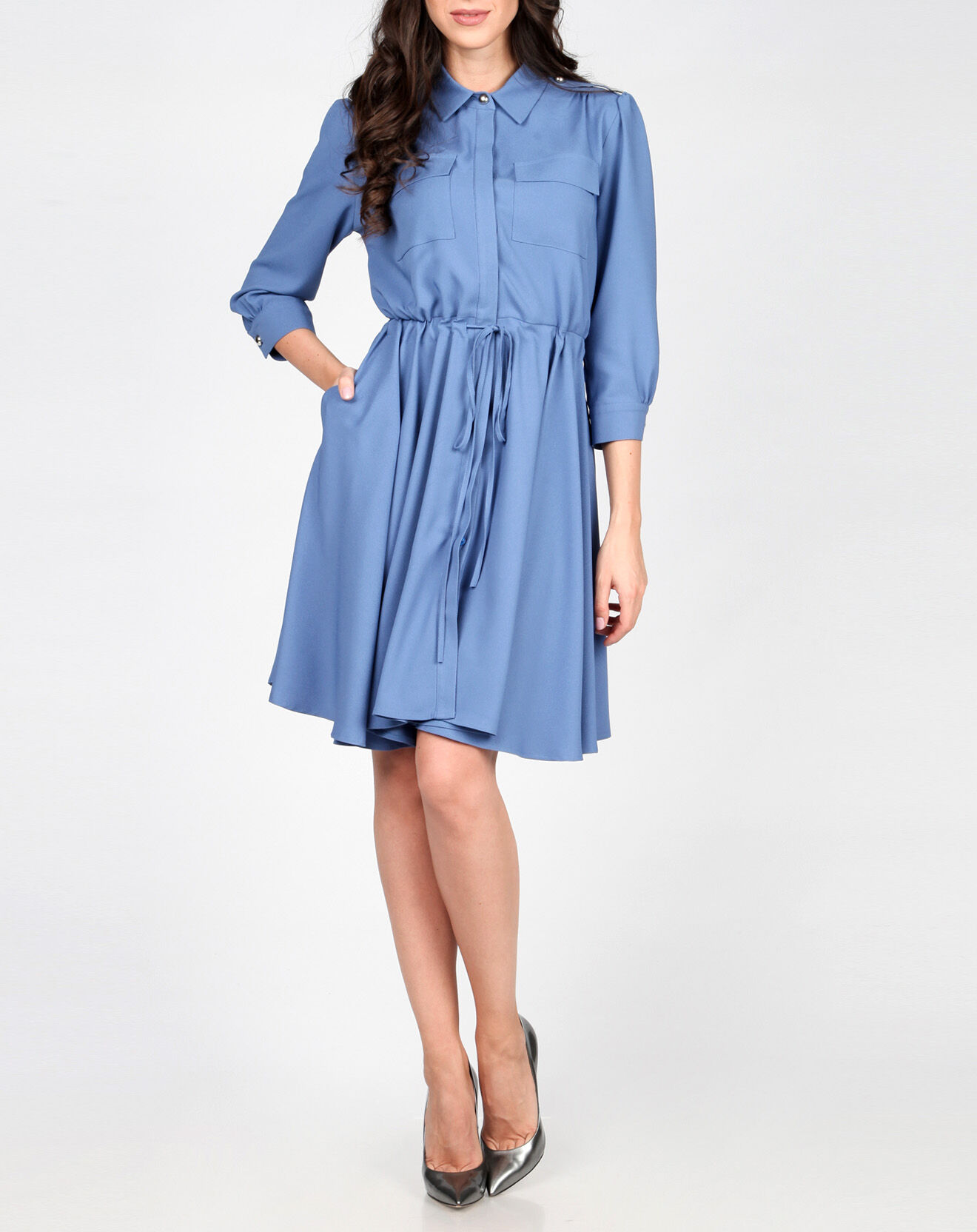 Robe Lisa bleue