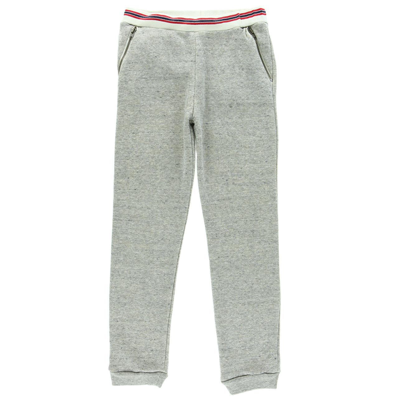 Pantalon Mori en coton gris