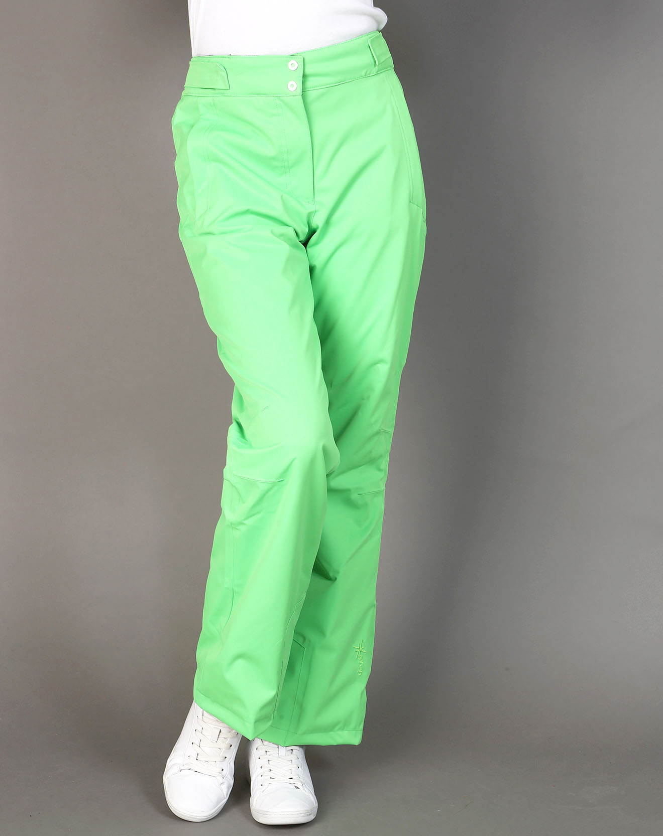 Pantalon de ski climset neon vert