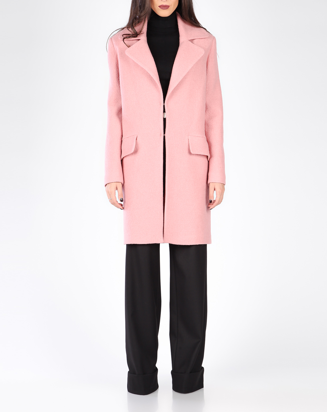 Manteau Aria rose