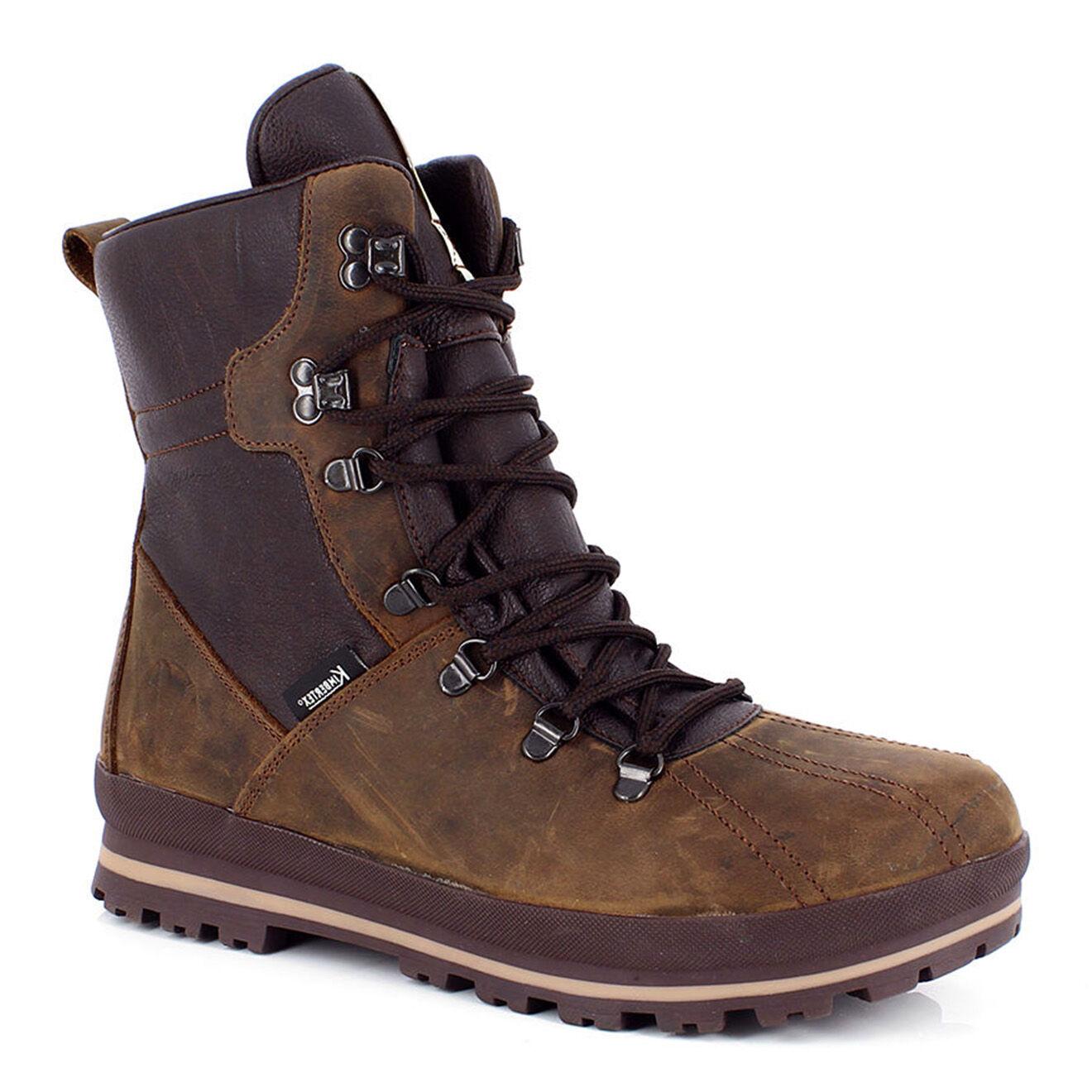 Boots fourrées Eiger marron/chocolat - Kimberfeel - Modalova