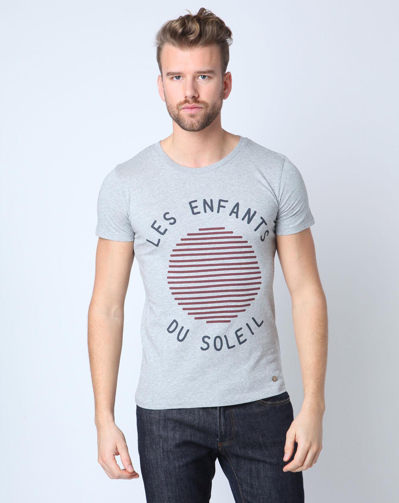 T-shirt Les Enfants du Soleil gris
