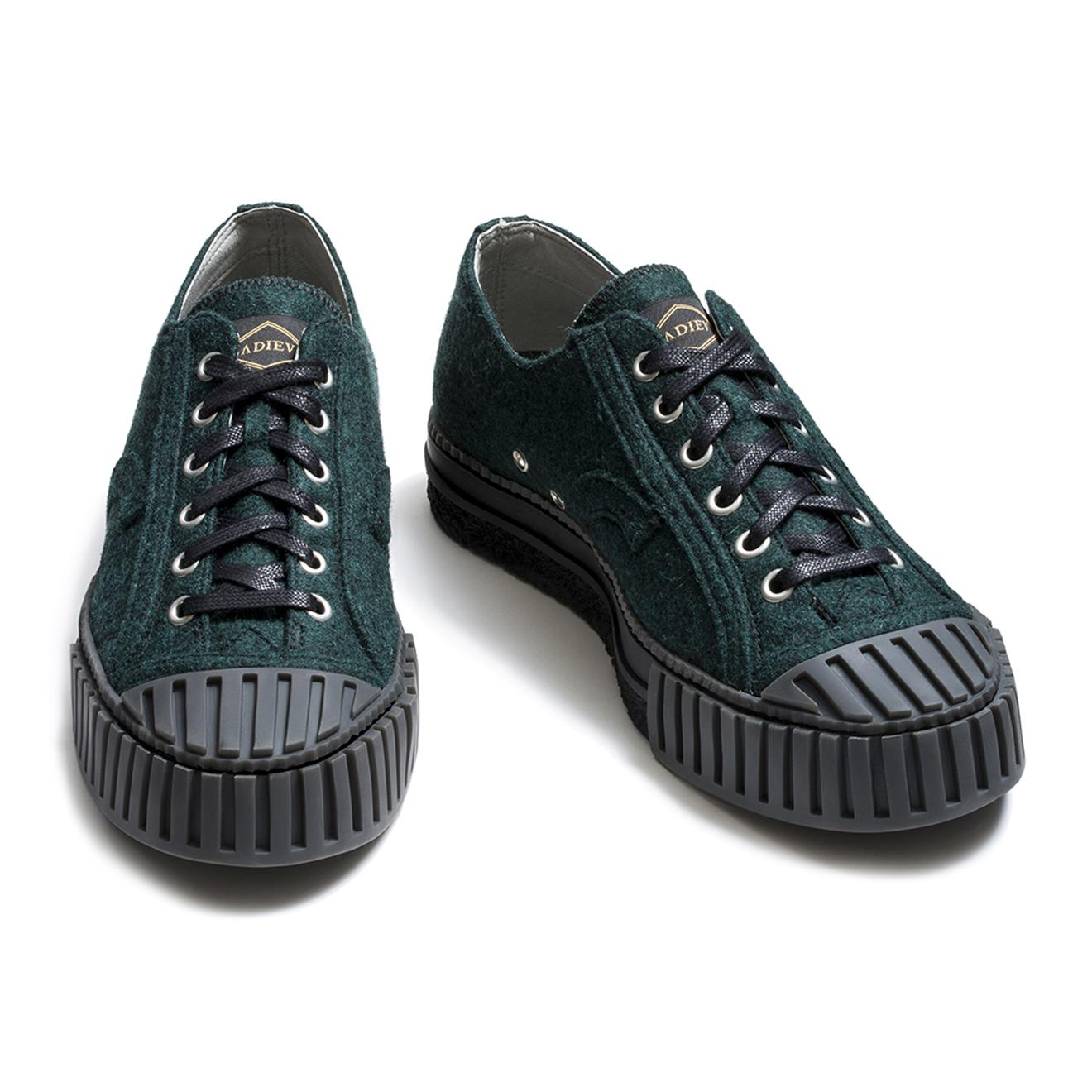 Sneakers Wo-Low vertes