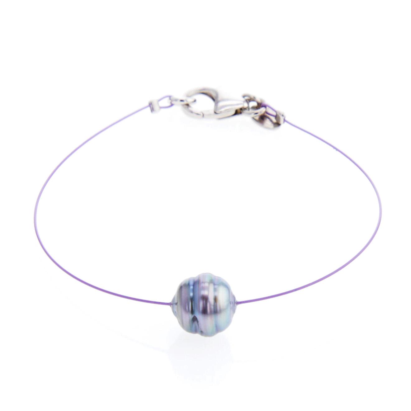 Bracelet Coralie Perle de Tahiti Argent
