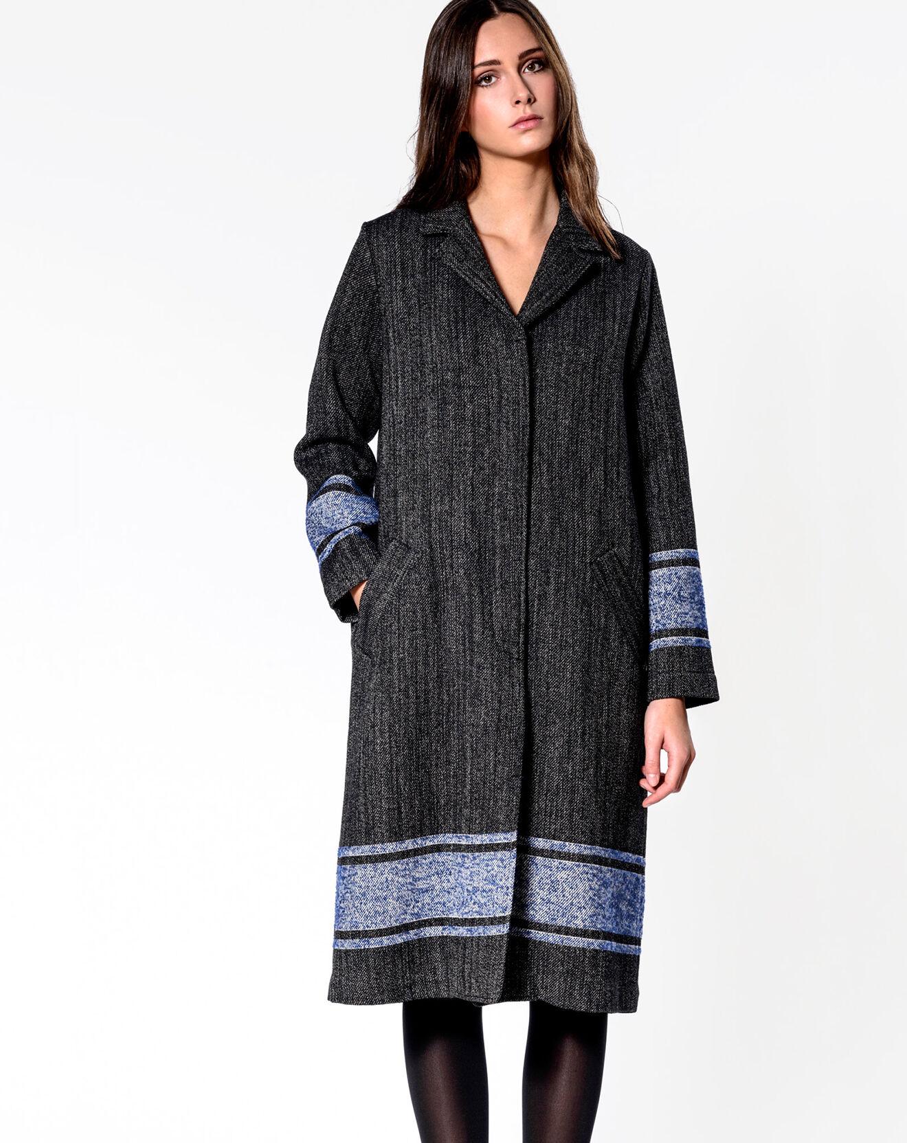 Manteau Luks gris/bleu - Bellerose - Modalova
