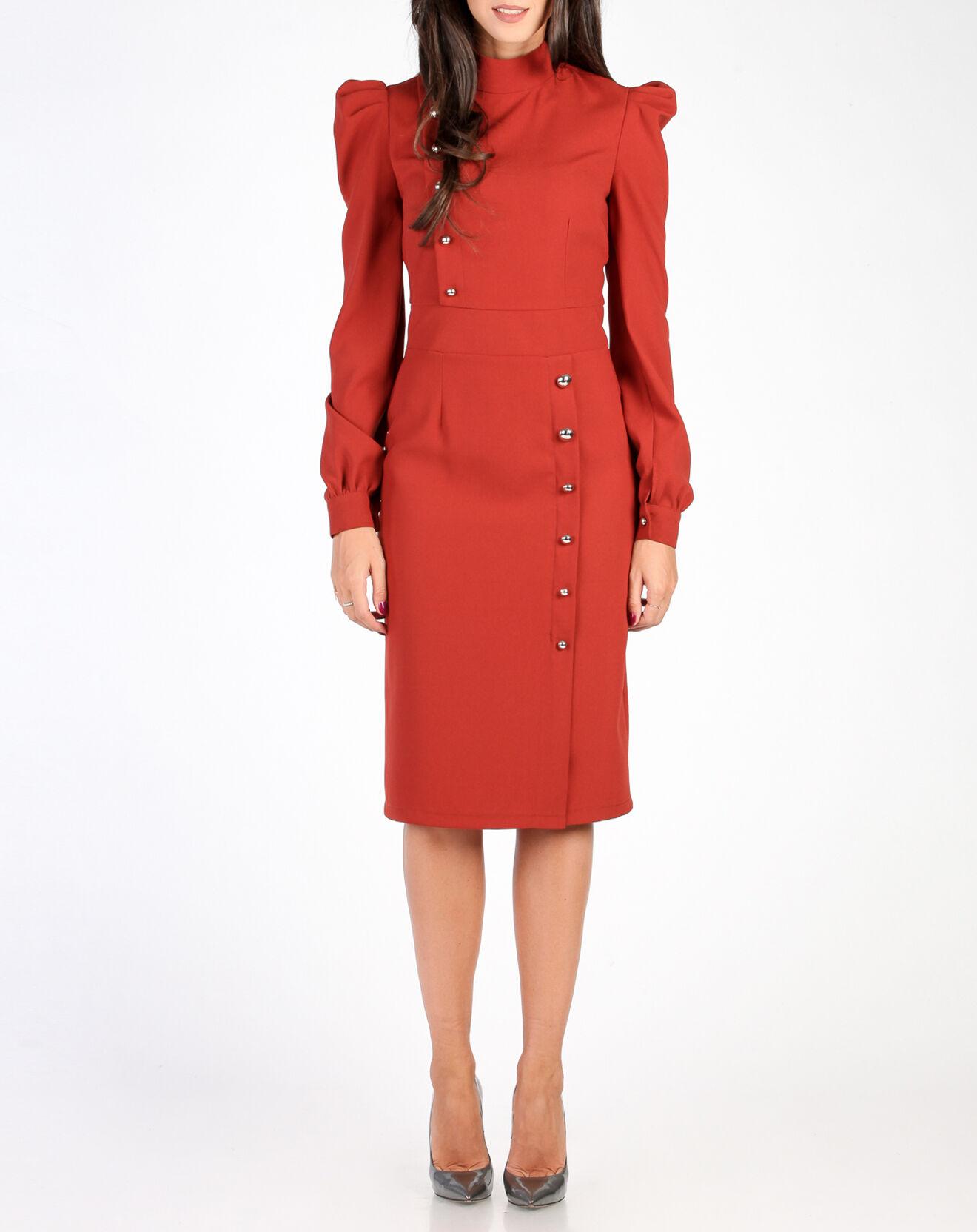 Robe Selena brique