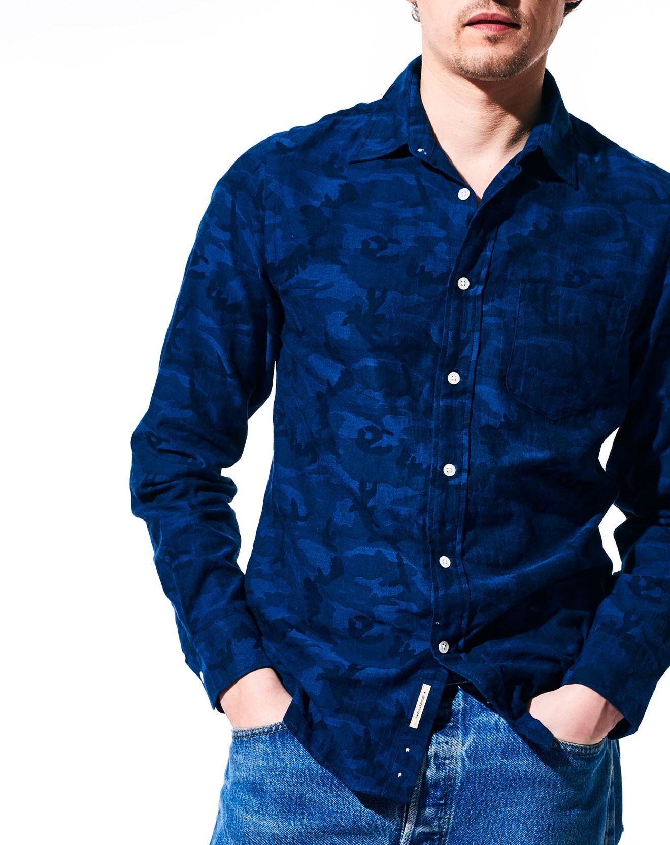 Chemise à motifs Glenh marine - Bellerose - Modalova