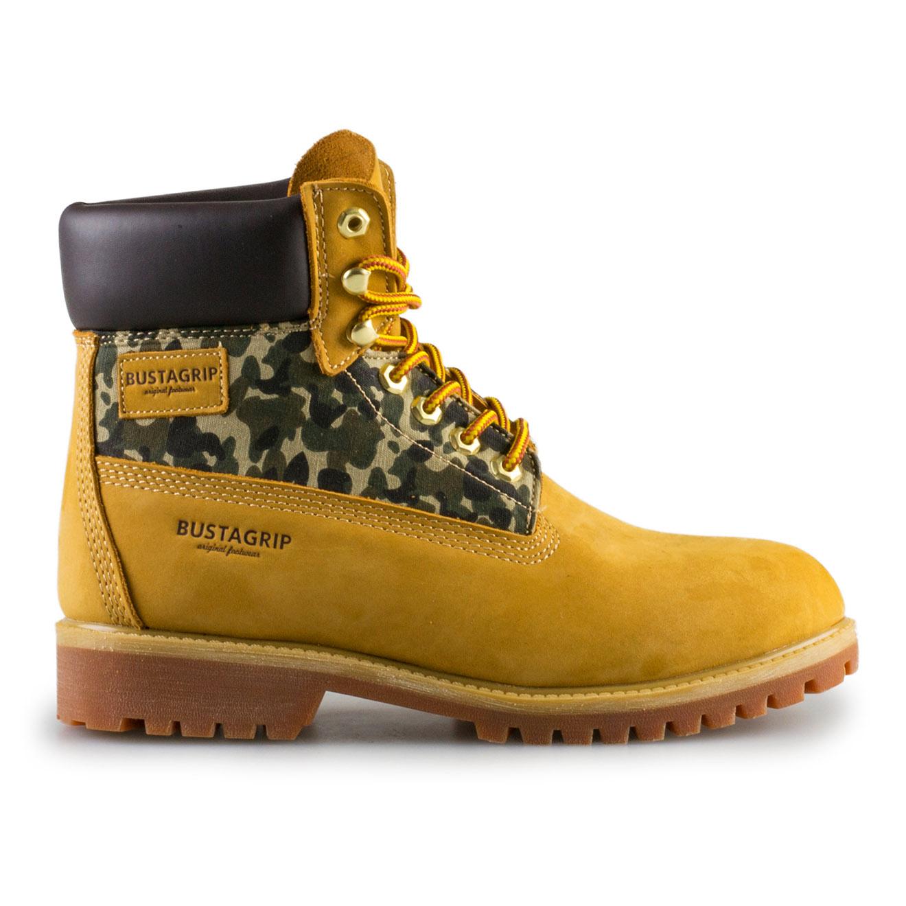 Boots en Cuir King camel