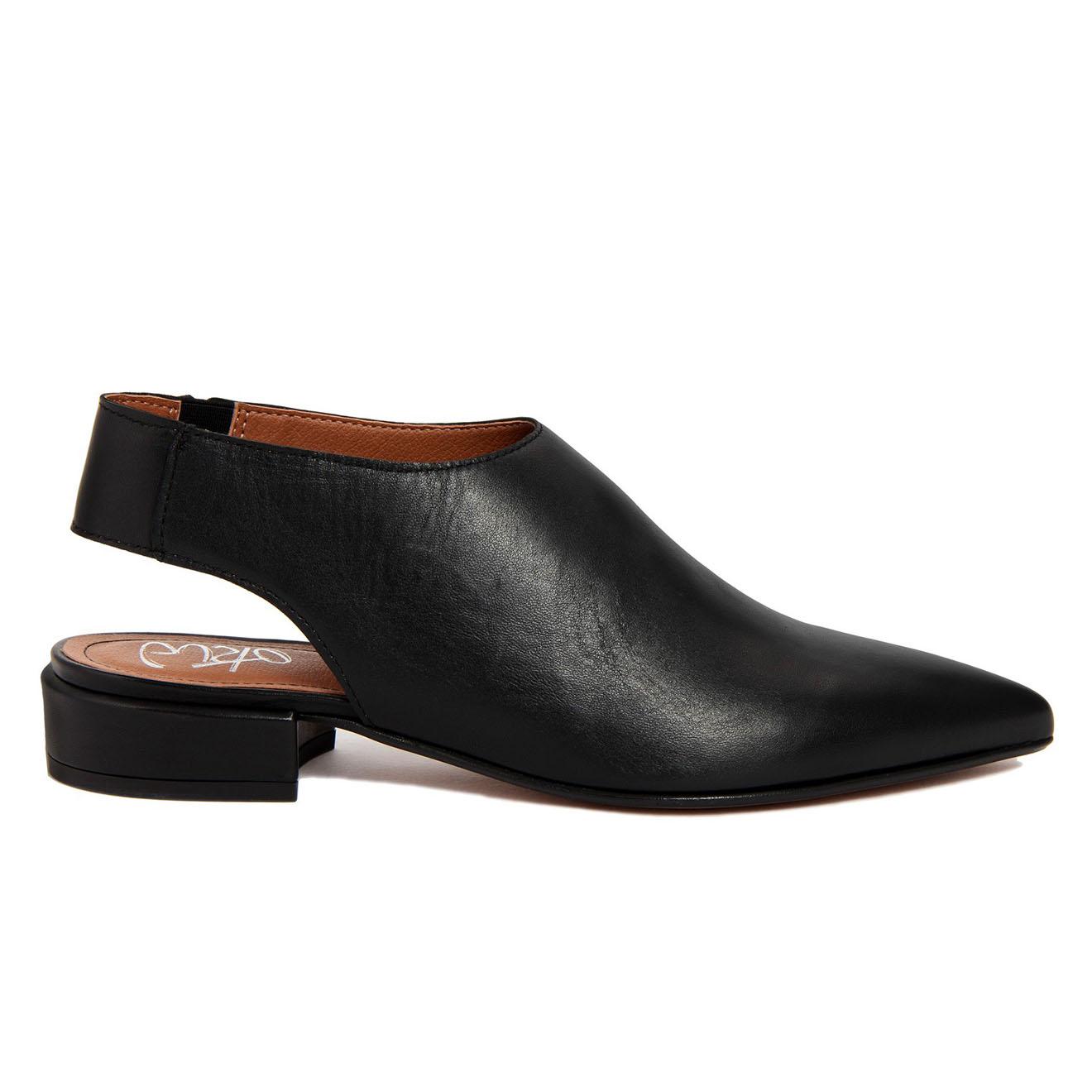 Sandales en Cuir Marie noires