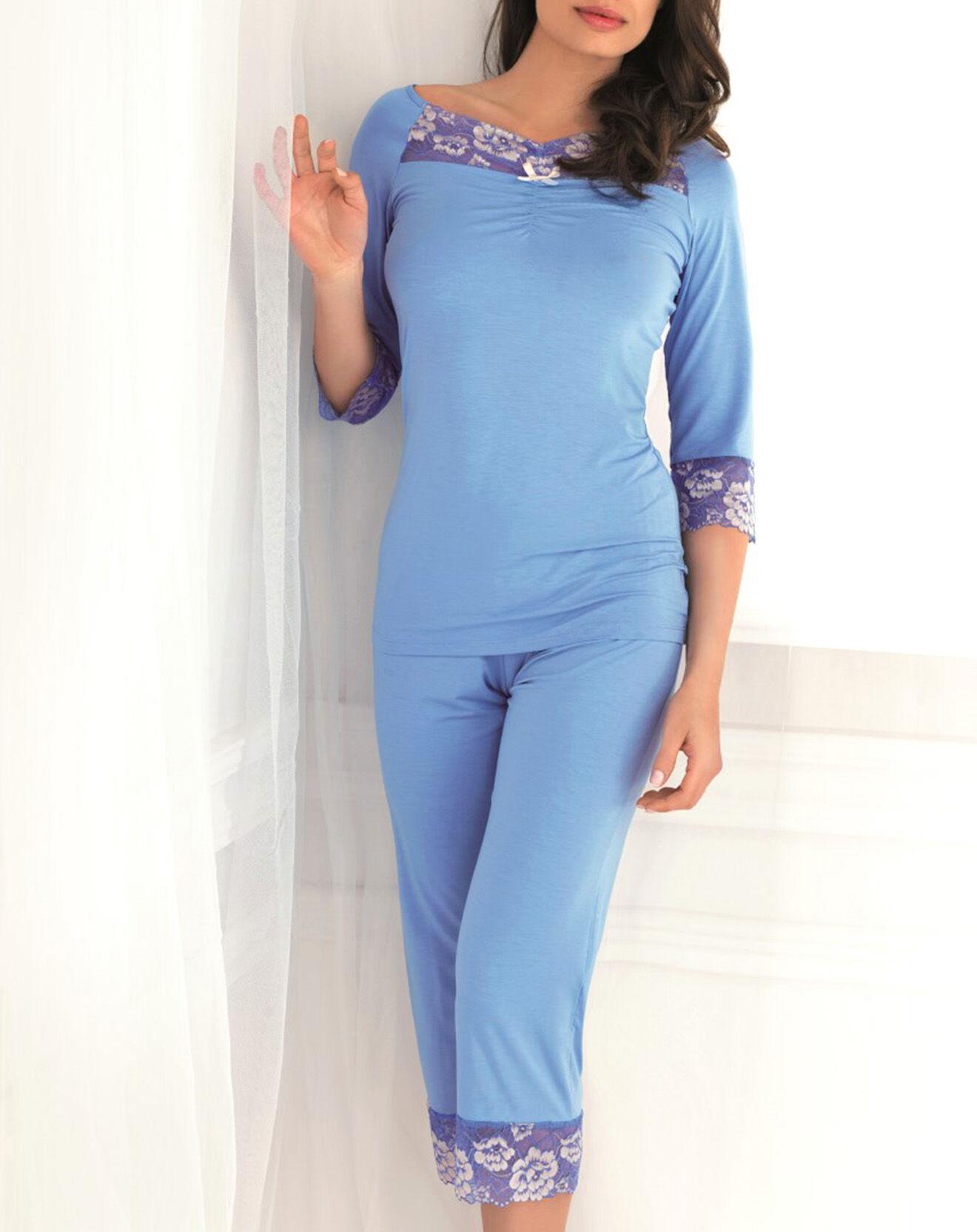 Pyjama Valentine bleu