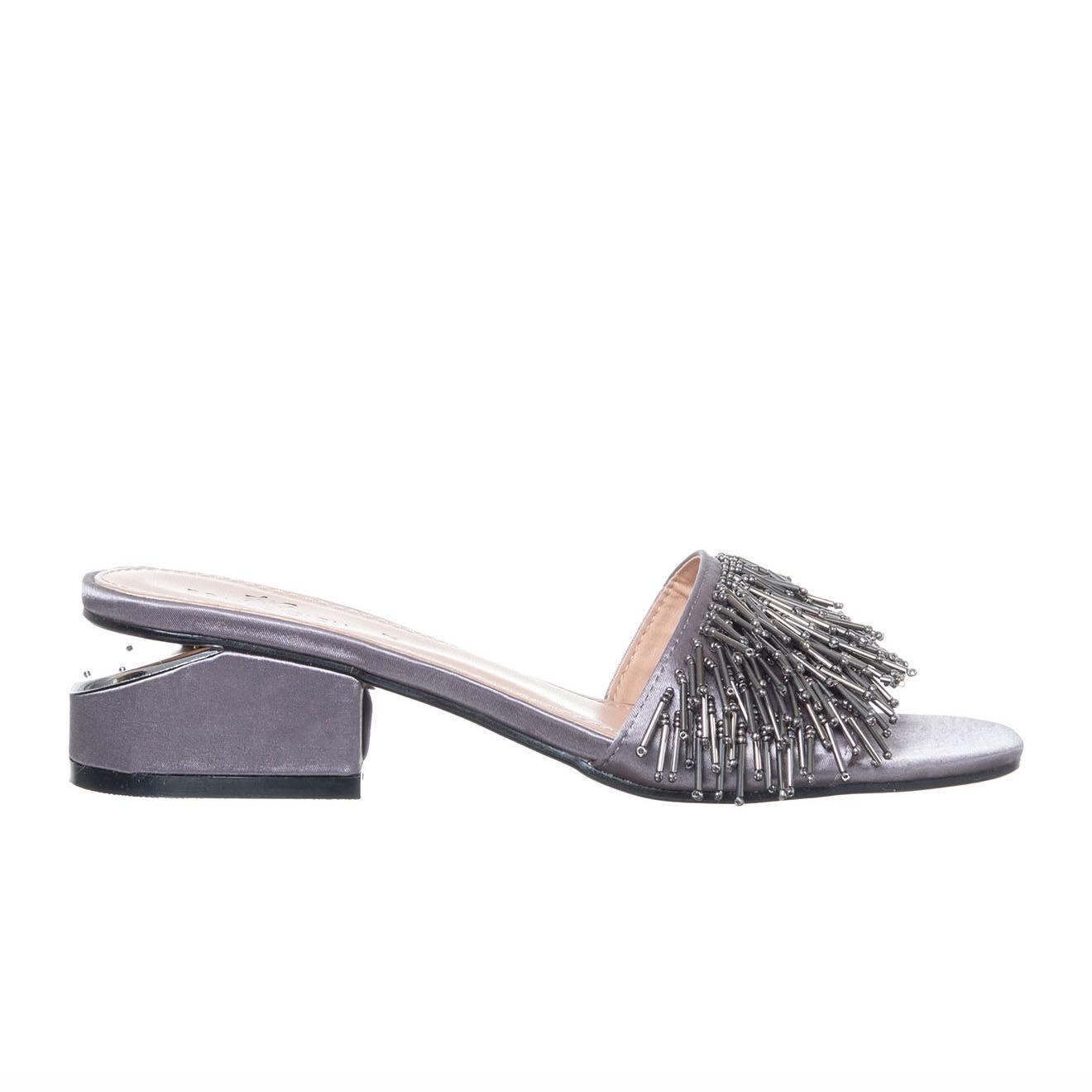 Sandales Albane agrentées - Talon 5 cm