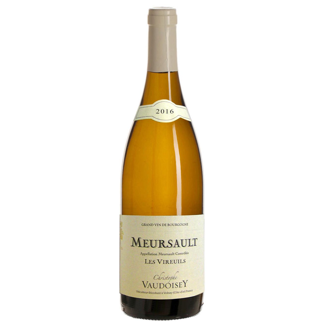 1 Meursault 2016 Vaudoisey 75cl