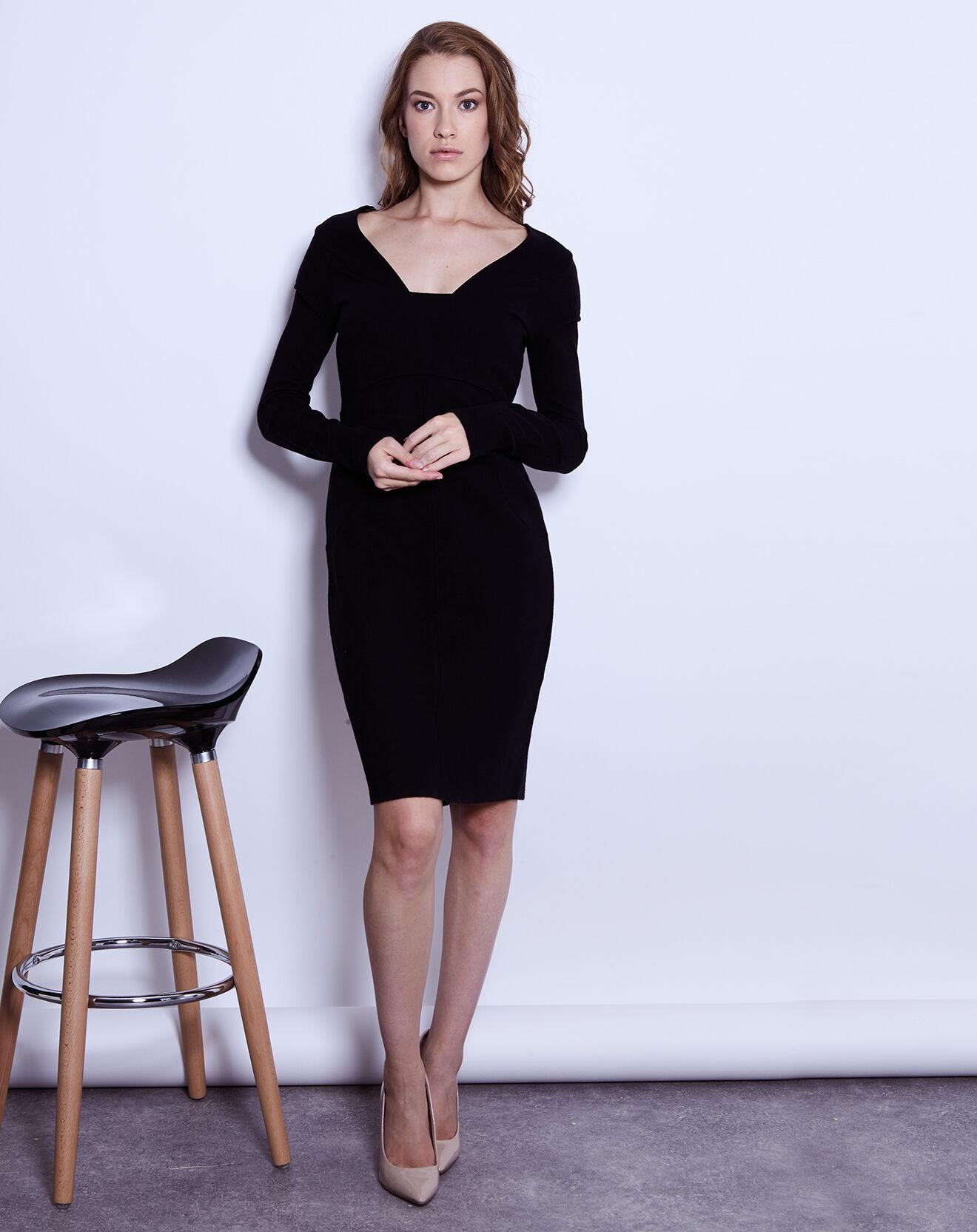 2951f1cc75a0a robe fourreau ashley brooke noir