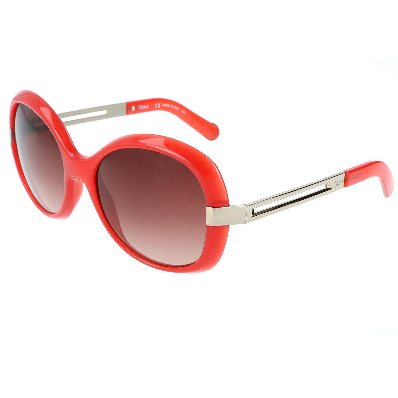 Chloé-femme-lunettes de soleil femme rouge...
