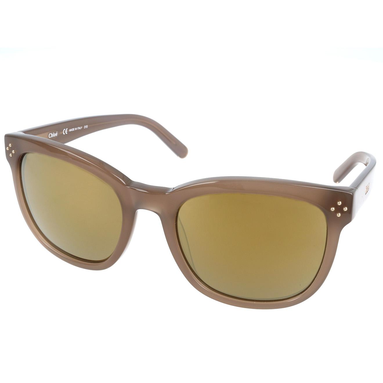 Chloé-femme-lunettes de soleil femme marron...