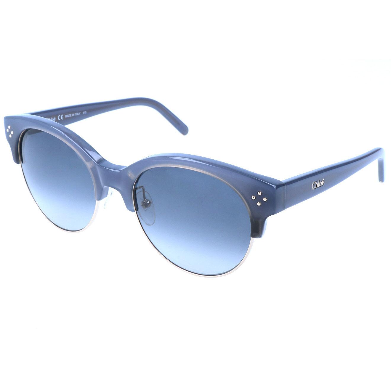 Chloé-femme-lunettes de soleil femme bleues-t.u
