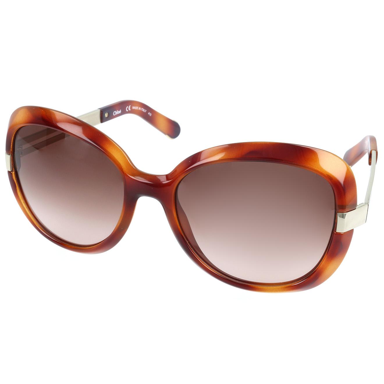 Chloé-femme-lunettes de soleil femme ecaille-t.u
