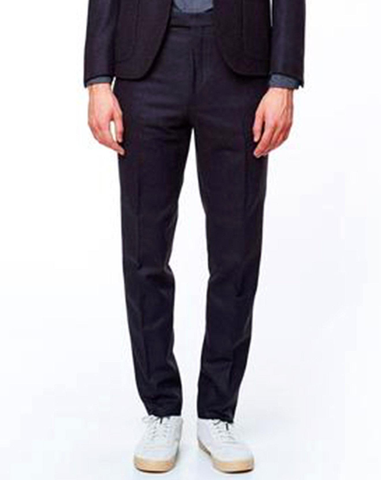 Pantalon 100% Laine Vierge Todd marine - Bellerose - Modalova