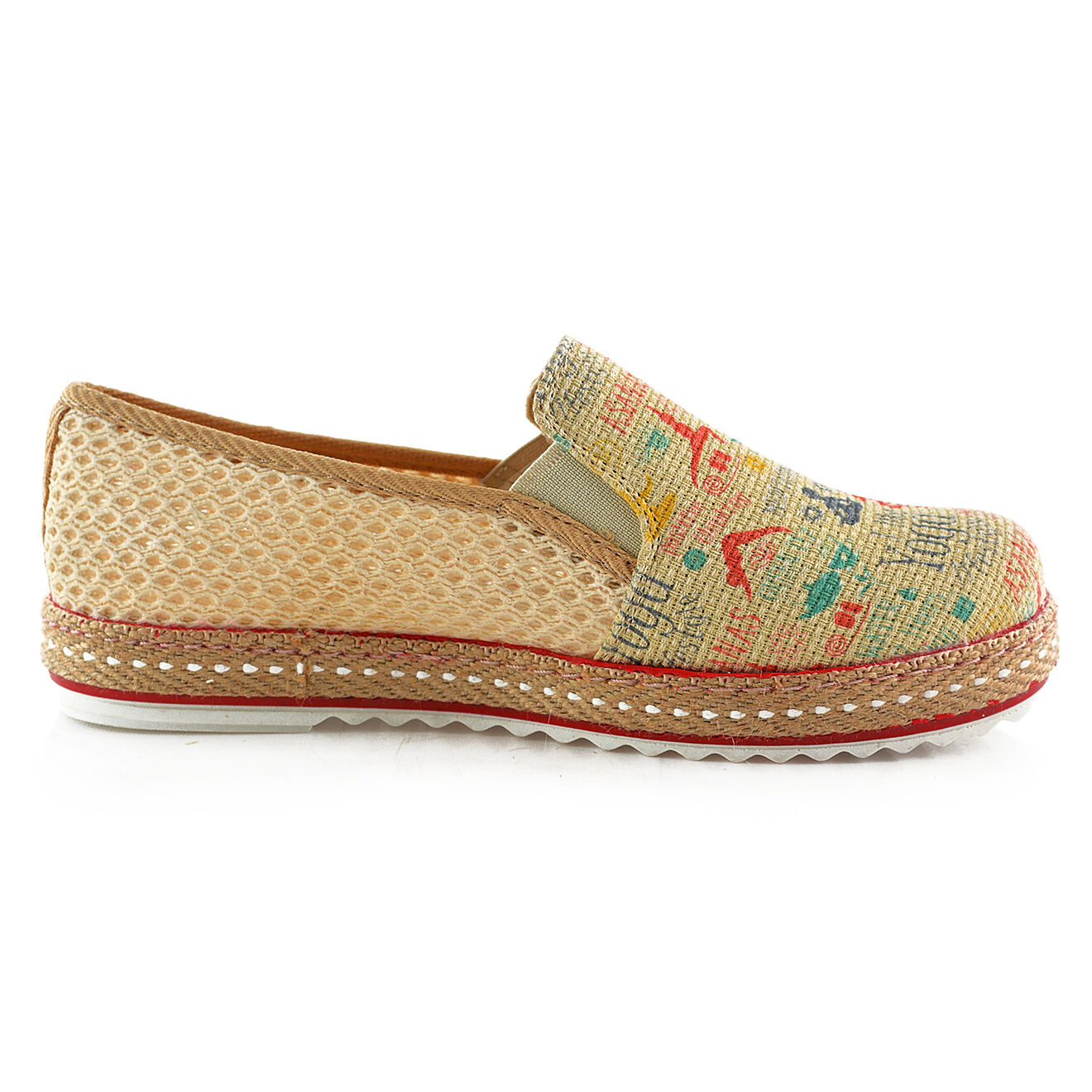 Slip on Yoga multicolores