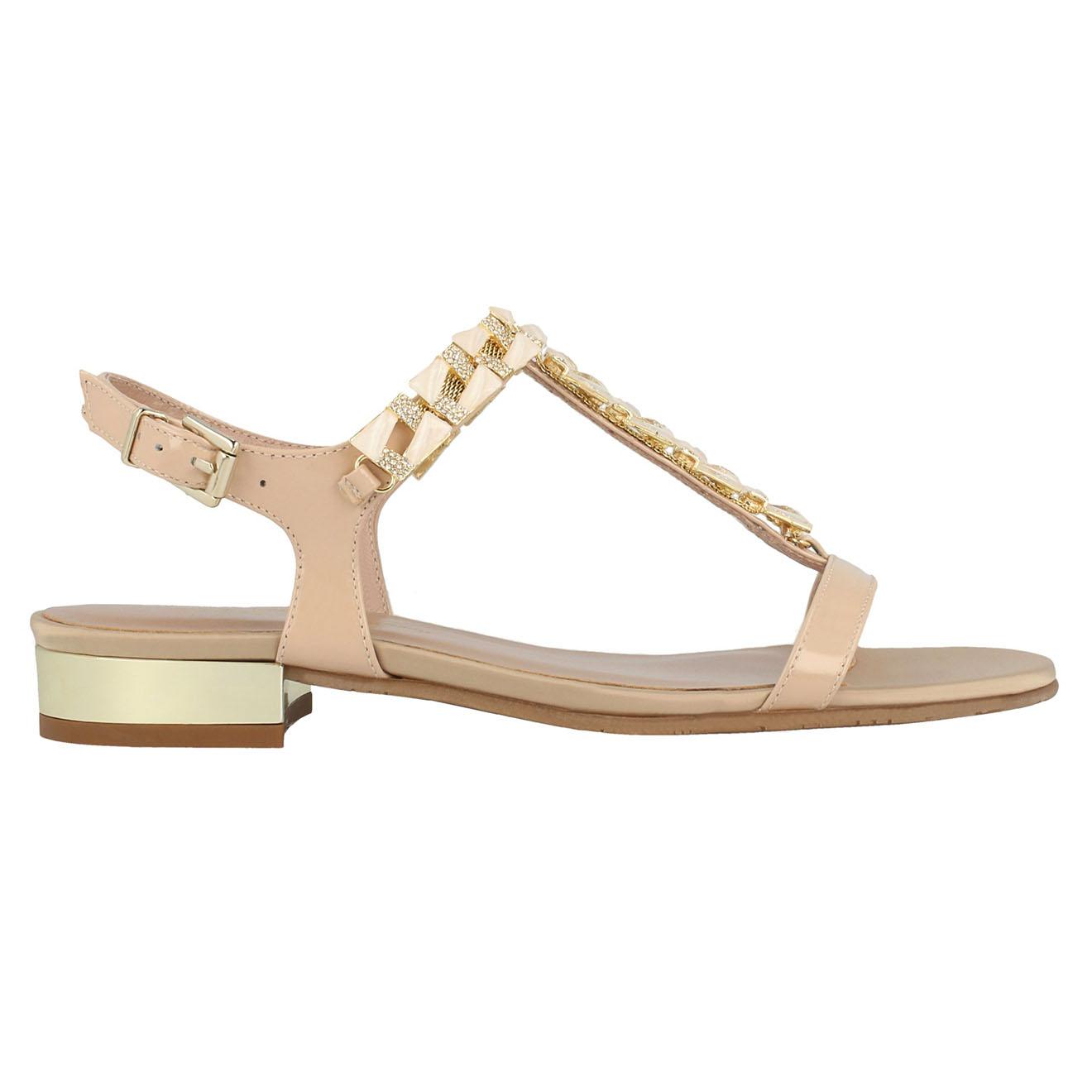 Sandales en Cuir nude - Roberto Botella - Modalova