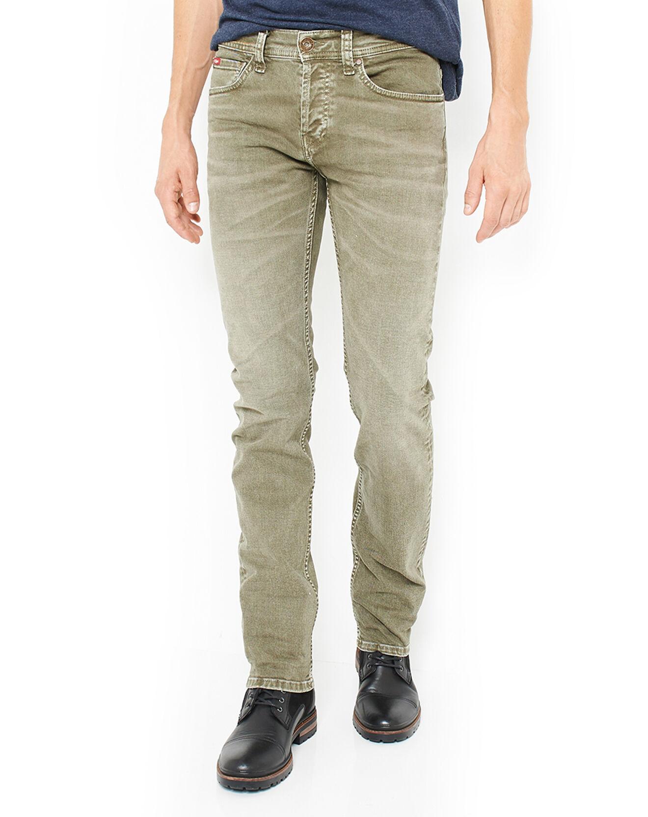 Pantalon délavé kaki - Lee Cooper - Modalova