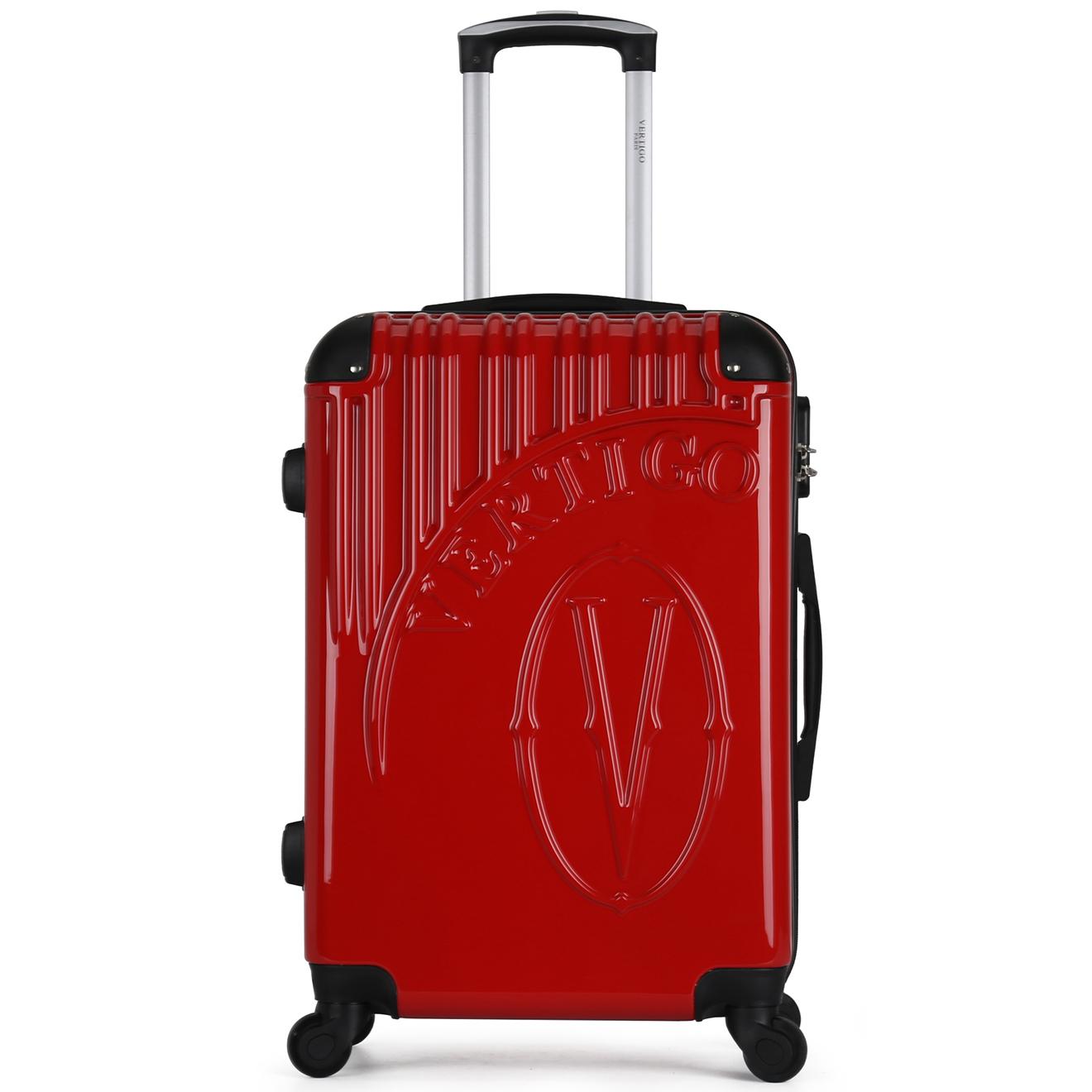 Valise Cabine 4 roues Osaka 52 cm rouge